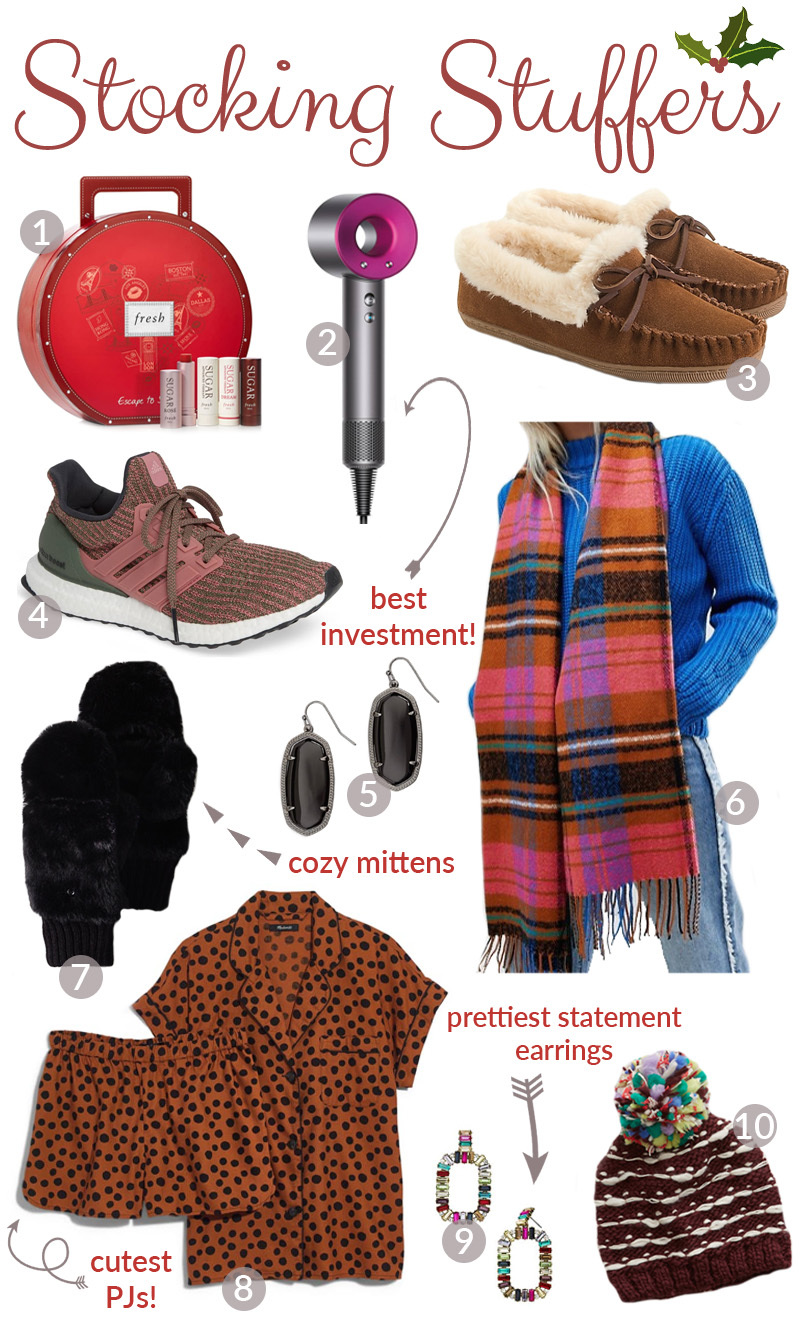 The Best Stocking Stuffers for Her featured by top US lifestyle blog, Walking in Memphis in High Heels