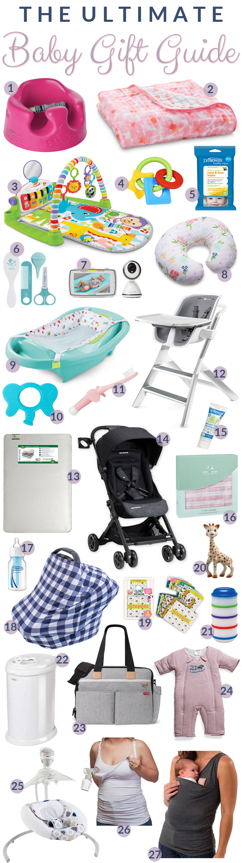 Best gift ideas for babies featured by top US lifestyle blog, Walking in Memphis in High Heels