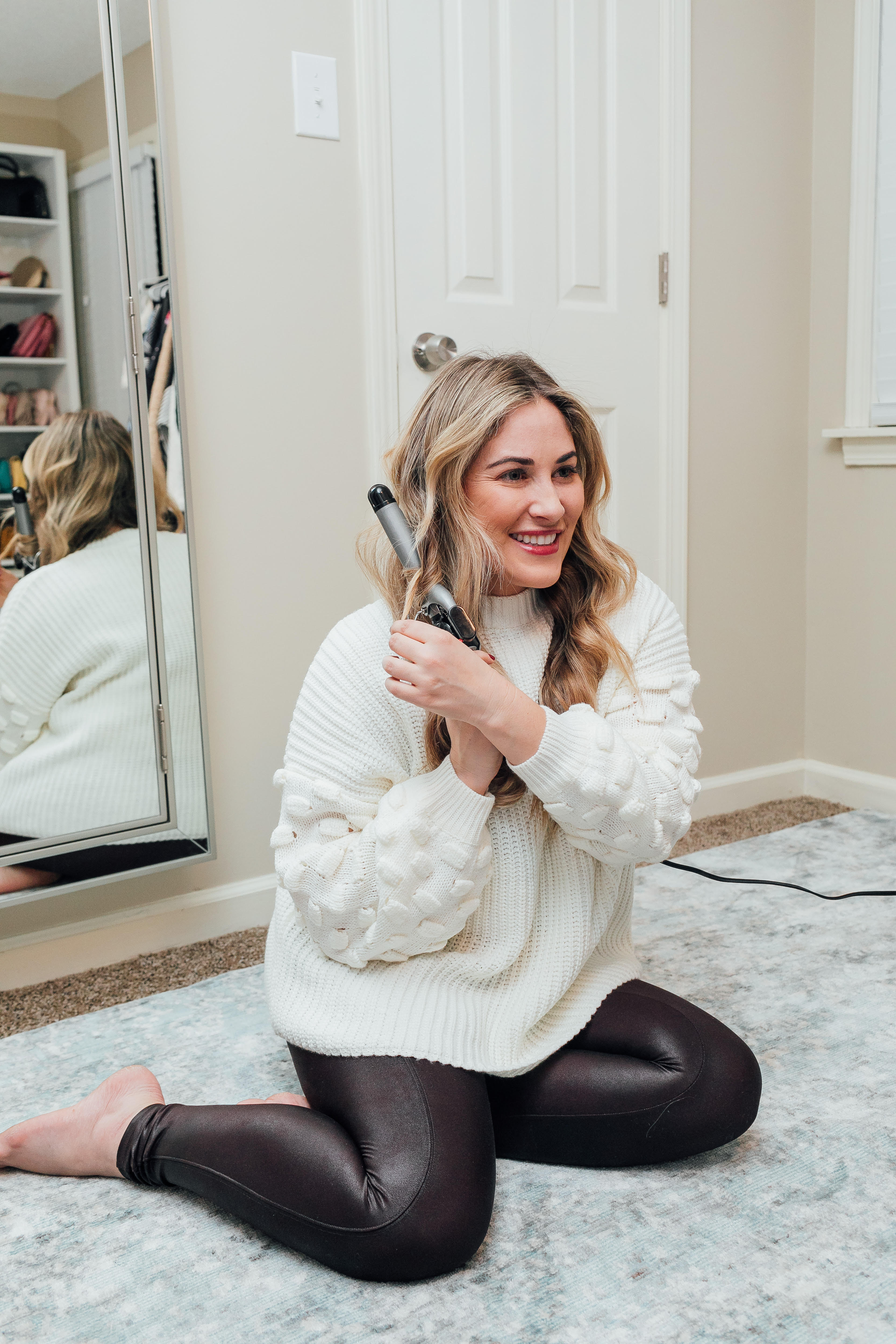 Hair Tutorial: How to Create Beach Waves with a Curling Iron
