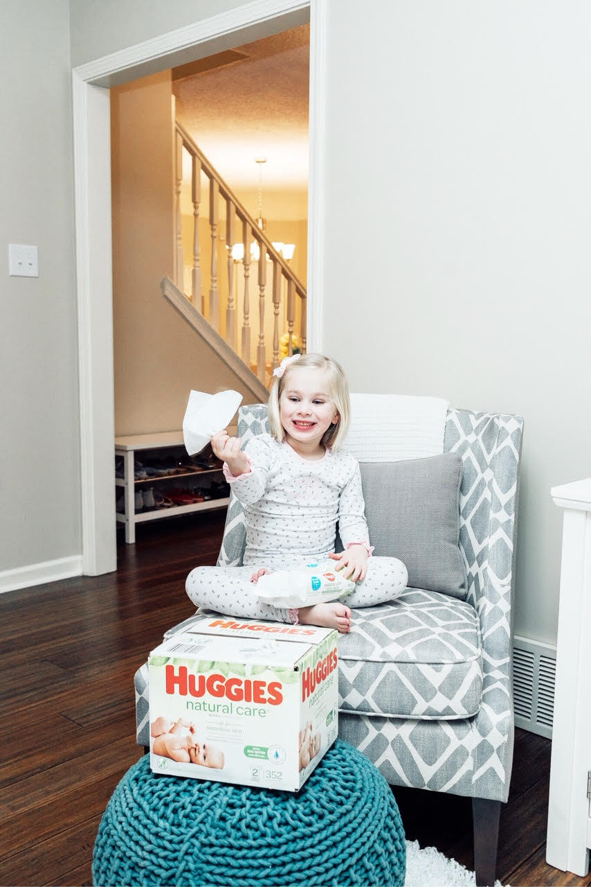 Why We Use Huggies Natural Care Wipes Everyday