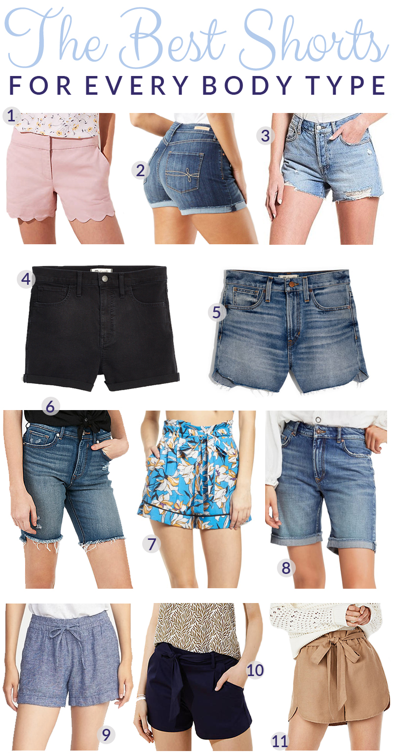 The Best Flattering Shorts for YOUR Body Type featured by top US fashion blog, Walking in Memphis in High Heels