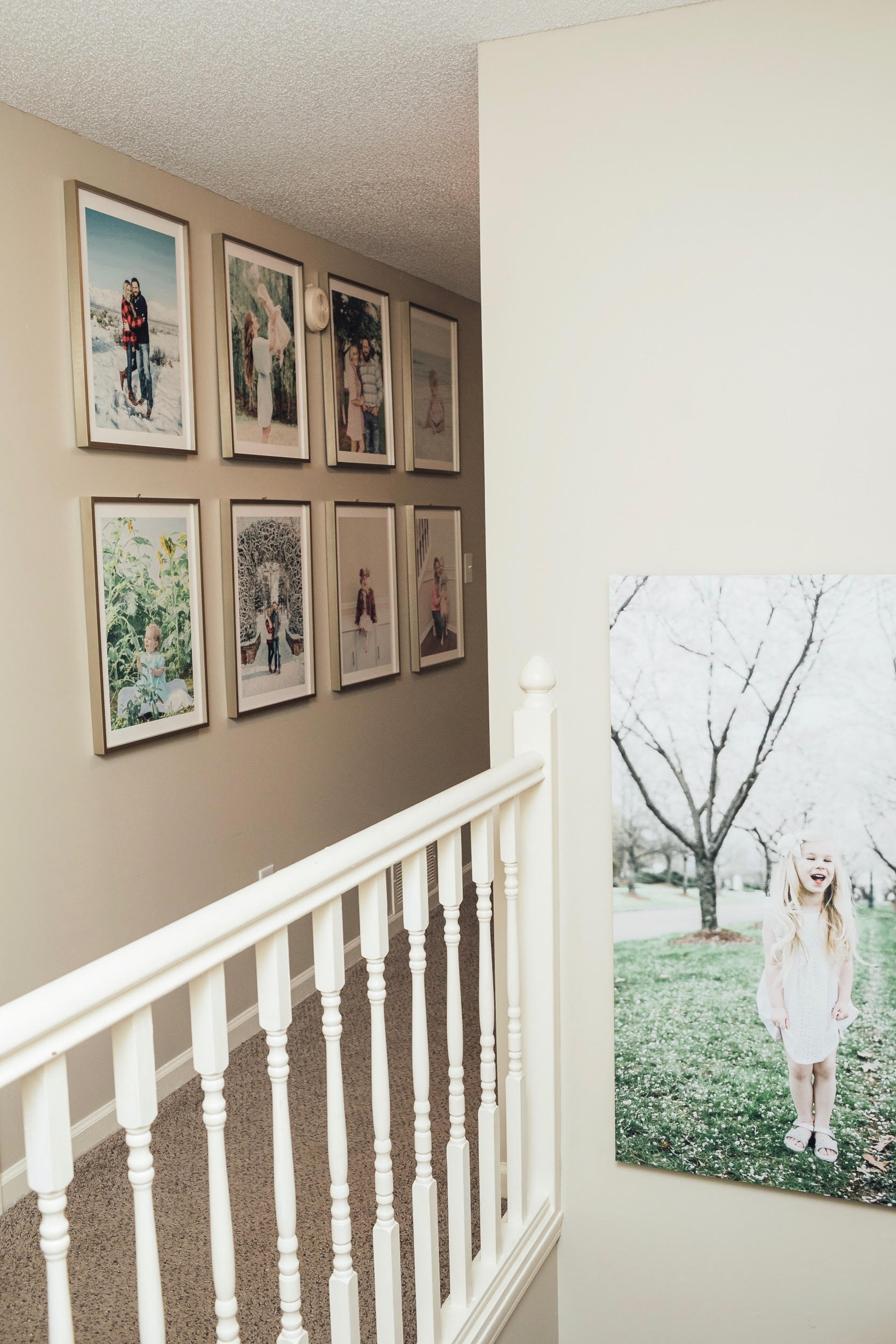 4 Essential Gallery Wall Tips for your Home featured by top US life and style blog, Walking in Memphis in High Heels