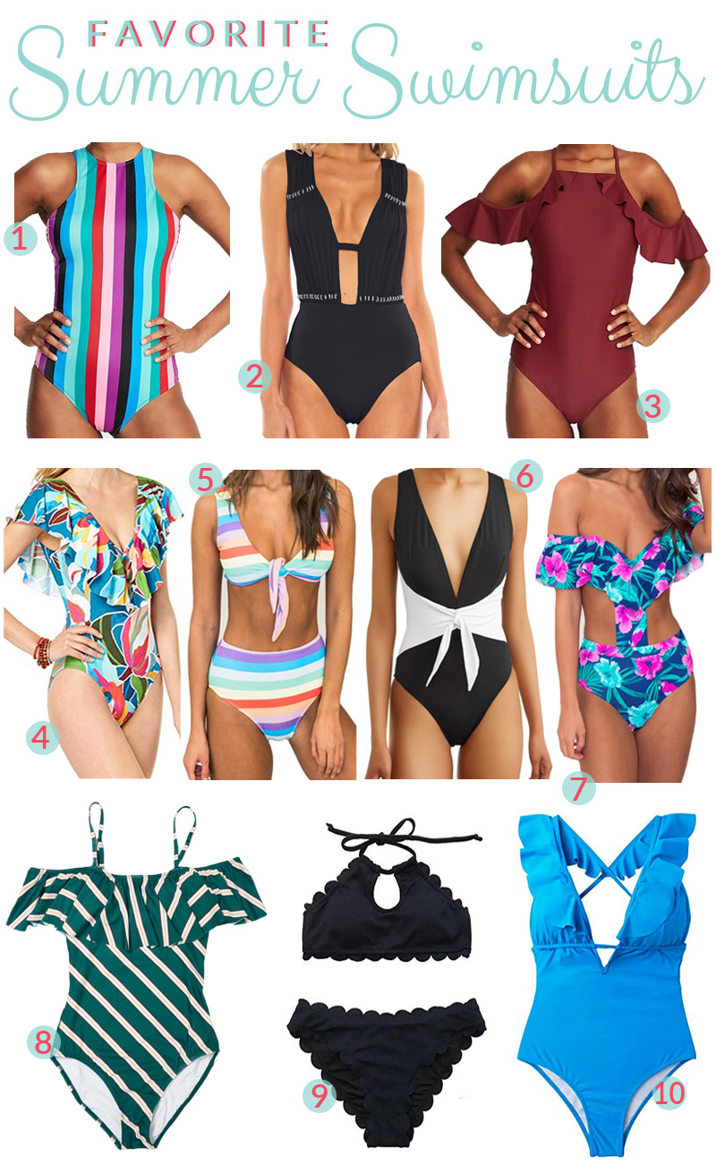 My Favorite Summer Swimsuits