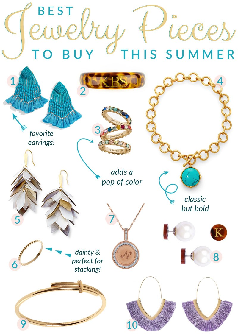 The Top Jewelry Trends for Summer
