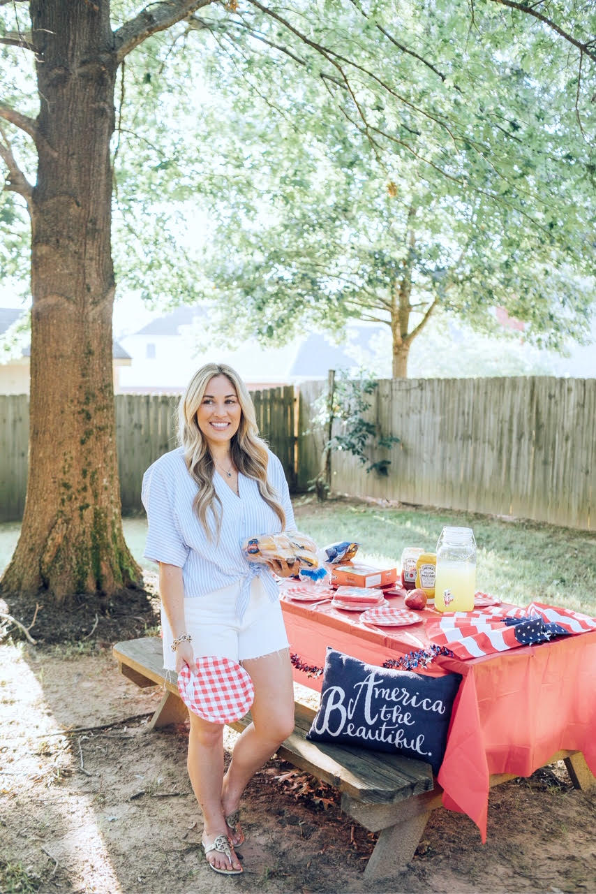 4th of July party essentials featured by top US lifestyle blog, Walking in Memphis in High Heels