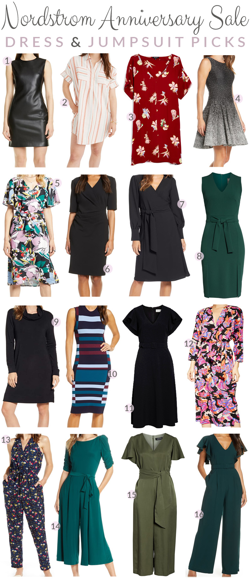 Nordstrom Anniversary Sale:  Best Dresses & Jumpsuits featured by top US fashion blog, Walking in Memphis in High Heels