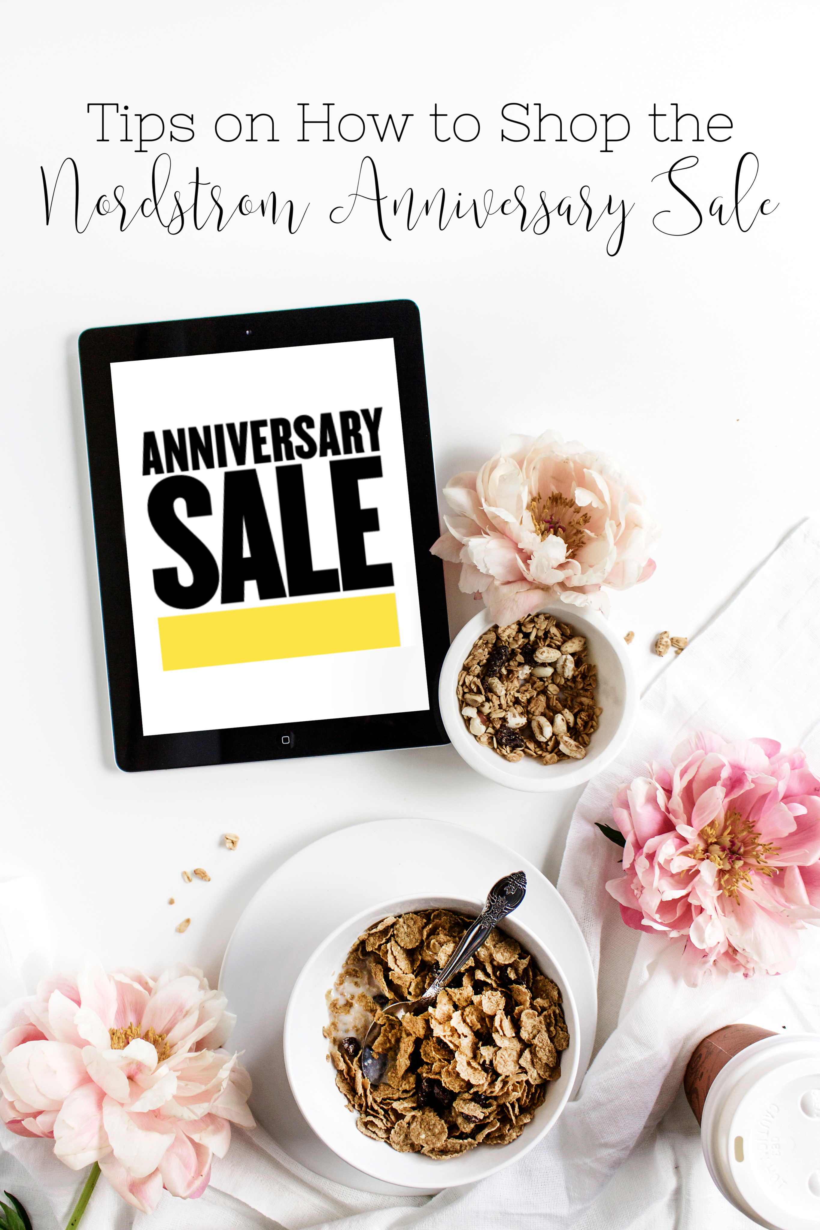 How to shop the Nordstrom Anniversary Sale, tips featured by top US fashion blog, Walking in Memphis in High Heels