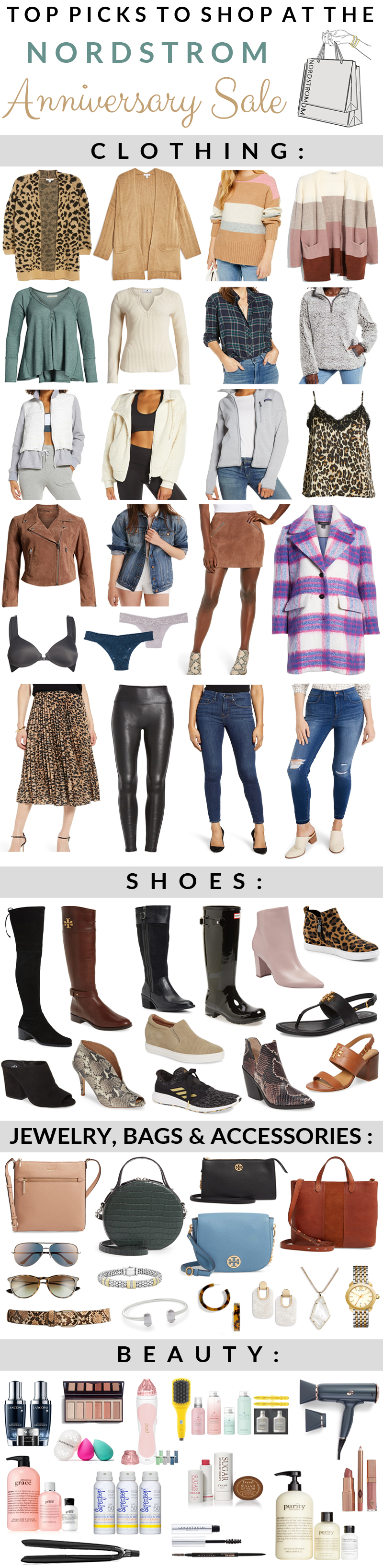 Nordstrom Anniversary Sale Top Picks featueed by top US fashion blog, Walking in Memphis in High Heels