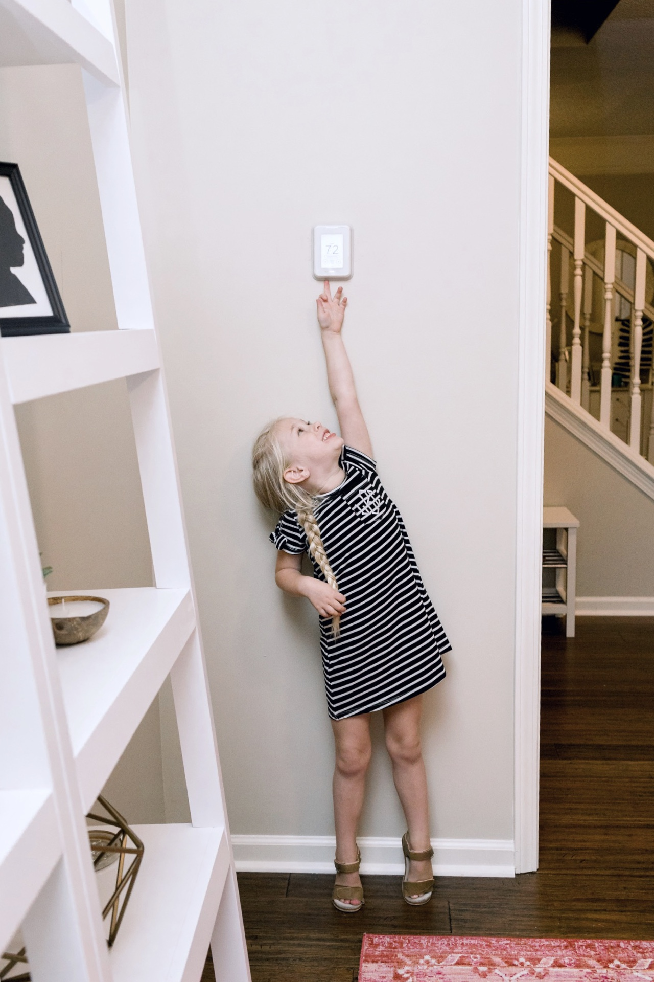 Benefits of a smart thermostat in your home featured by top US lifestyle blog, Walking in Memphis in High Heels: image of the Honeywell Home T9 Smart Thermostat review