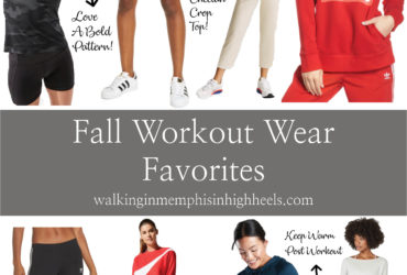 Fall Workout Clothes Favorites