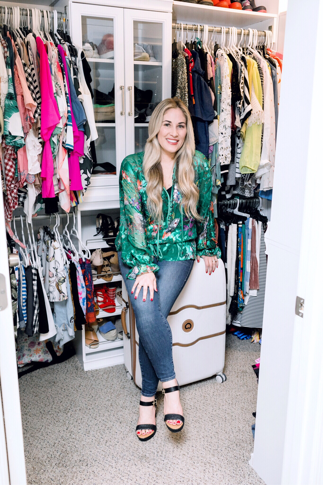 ClosetMaid Modular Closet System review featured by top US life and style blog, Walking in Memphis in High Heels.