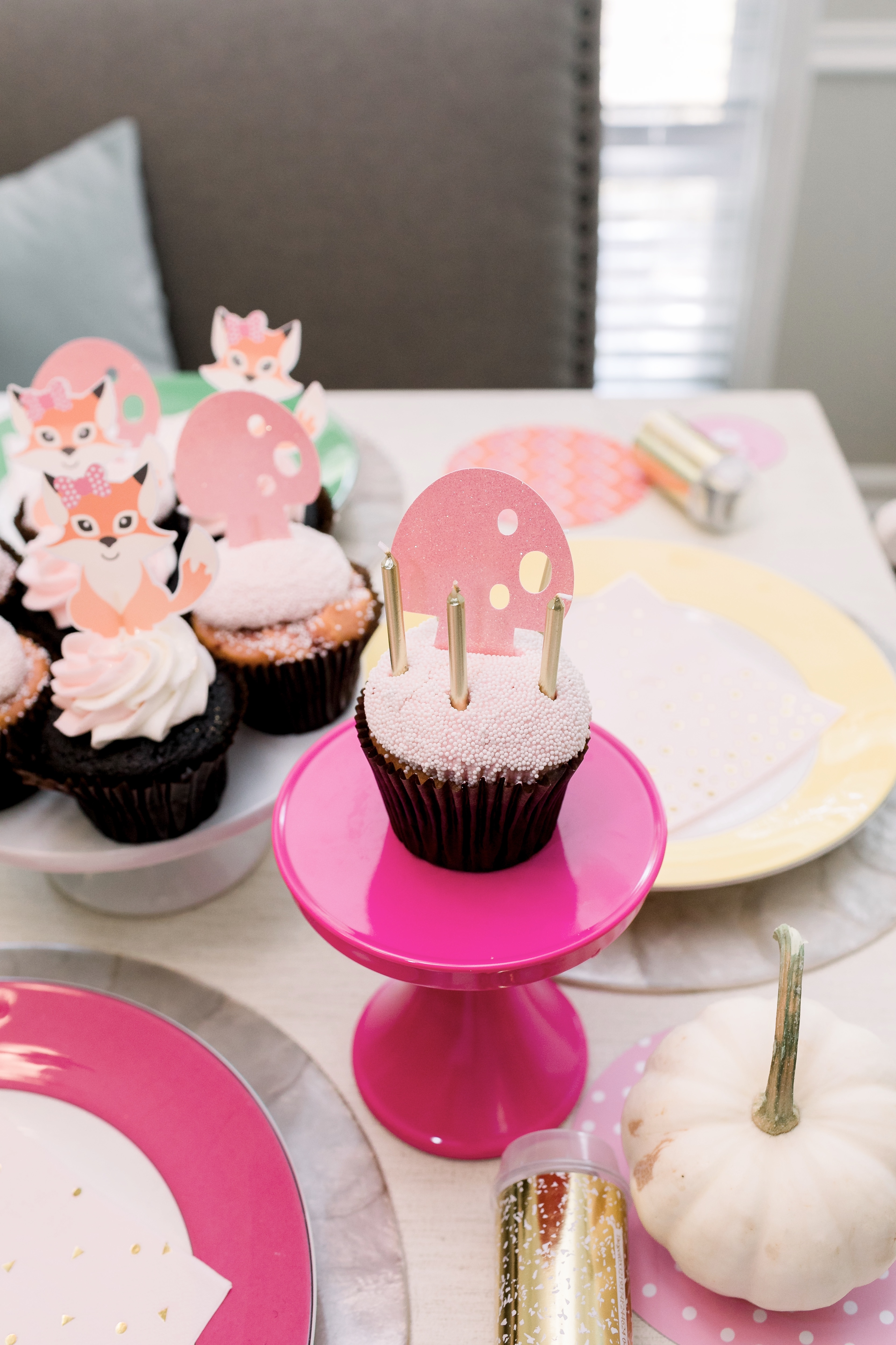 Woodland Animals Birthday Party Essentials featured by top US life and style blog, Walking in Memphis in High Heels.
