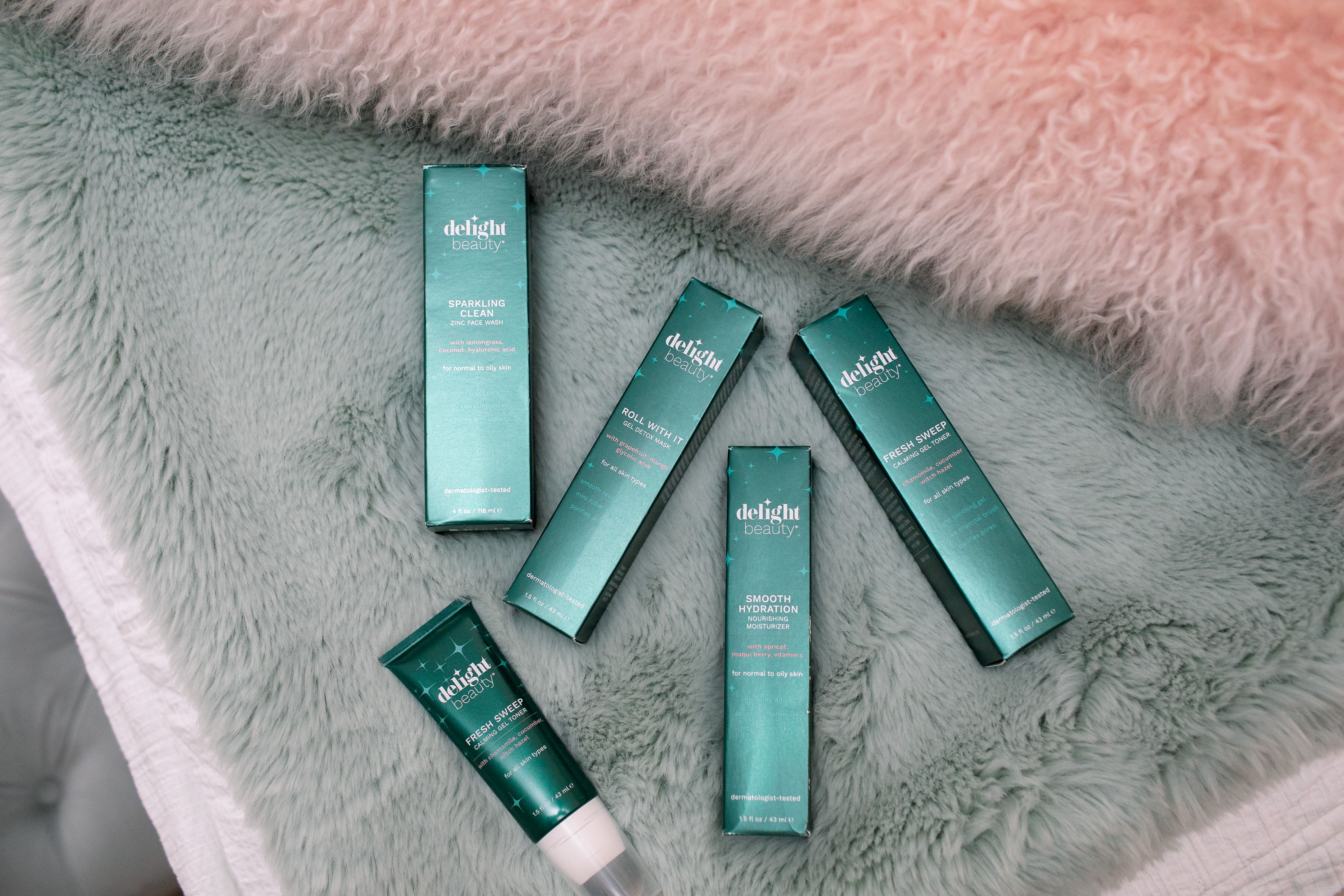 Delight Beauty Skin Care Products reviewed by top US life and style blog, Walking in Memphis in High Heels.