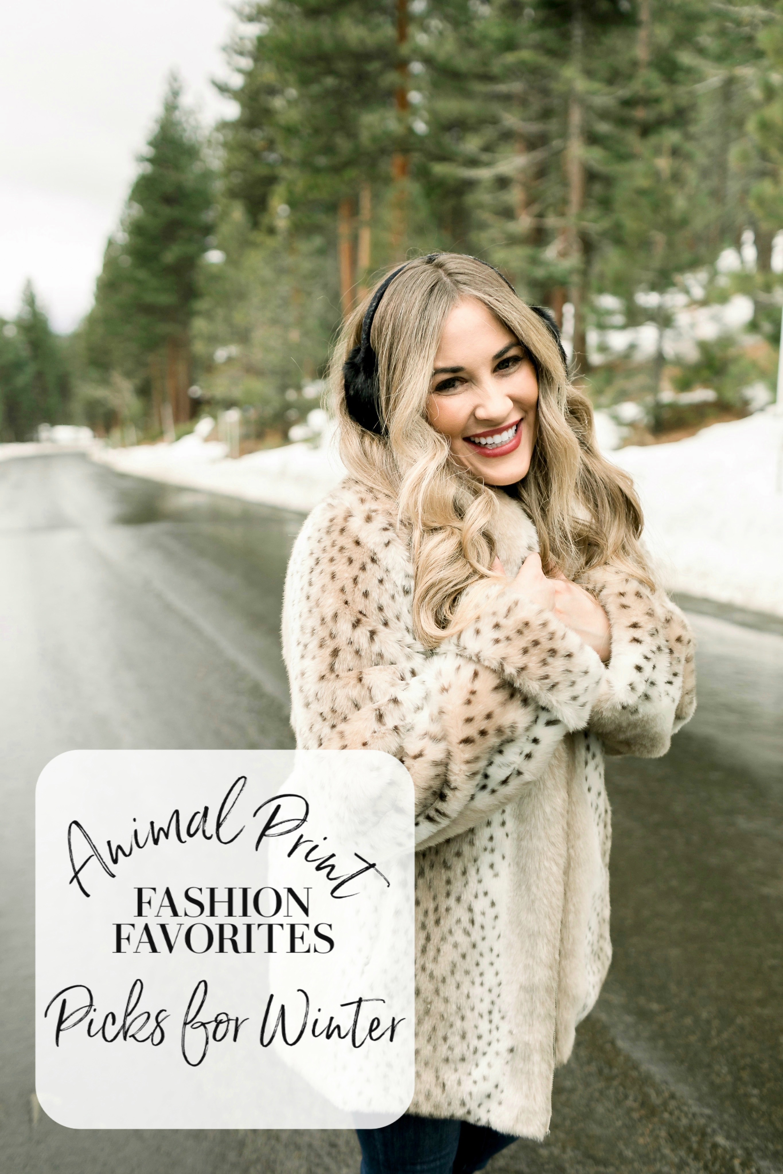Animal Print Fashion Favorites Picks for Winter featured by top Memphis fashion blog, Walking in Memphis in High Heels: image of a woman wearing a leopard print jacket.