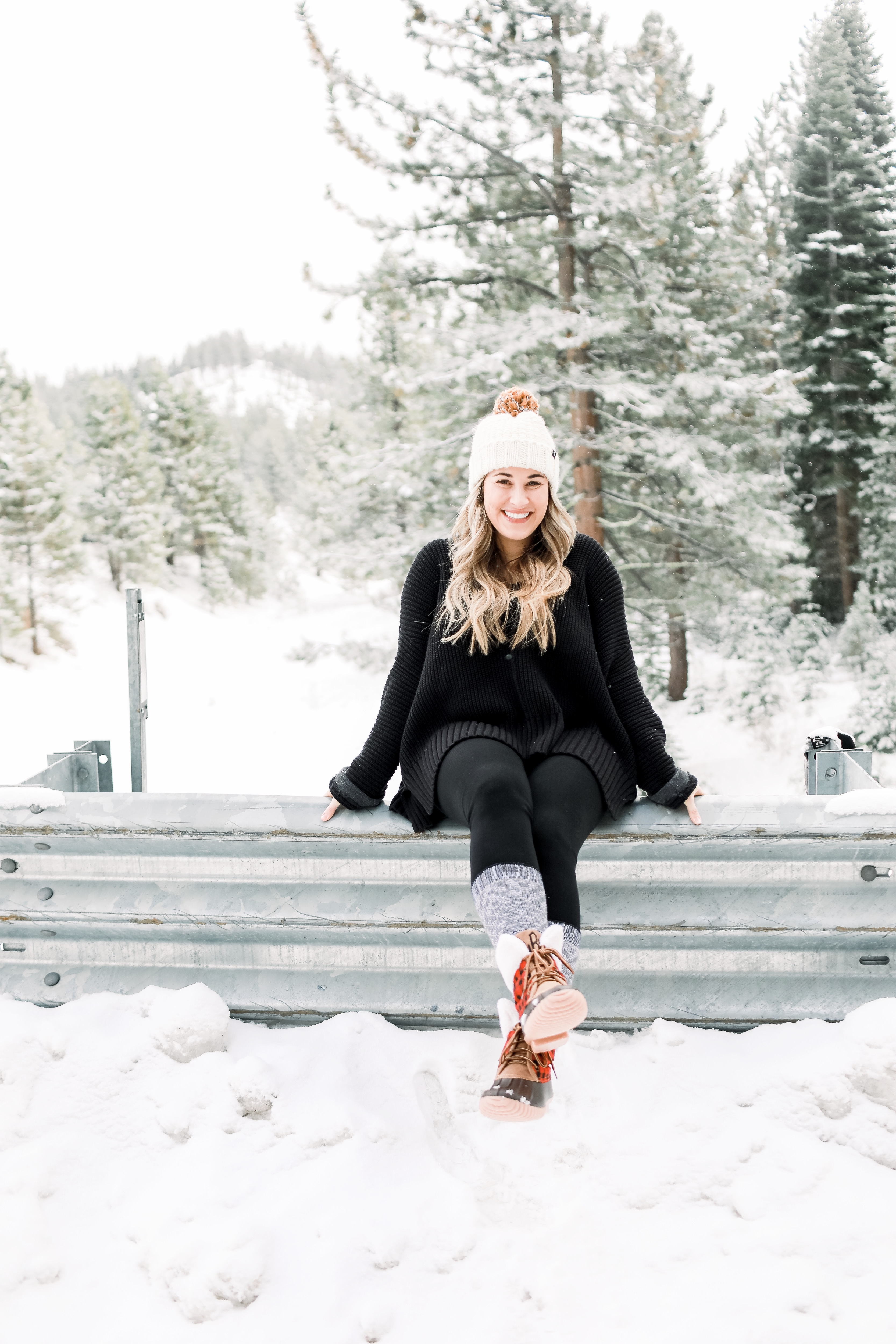 Marley Lilly Duck Boots: cute winter boots styled by top Memphis fashion blog, Walking in Memphis in High Heels.