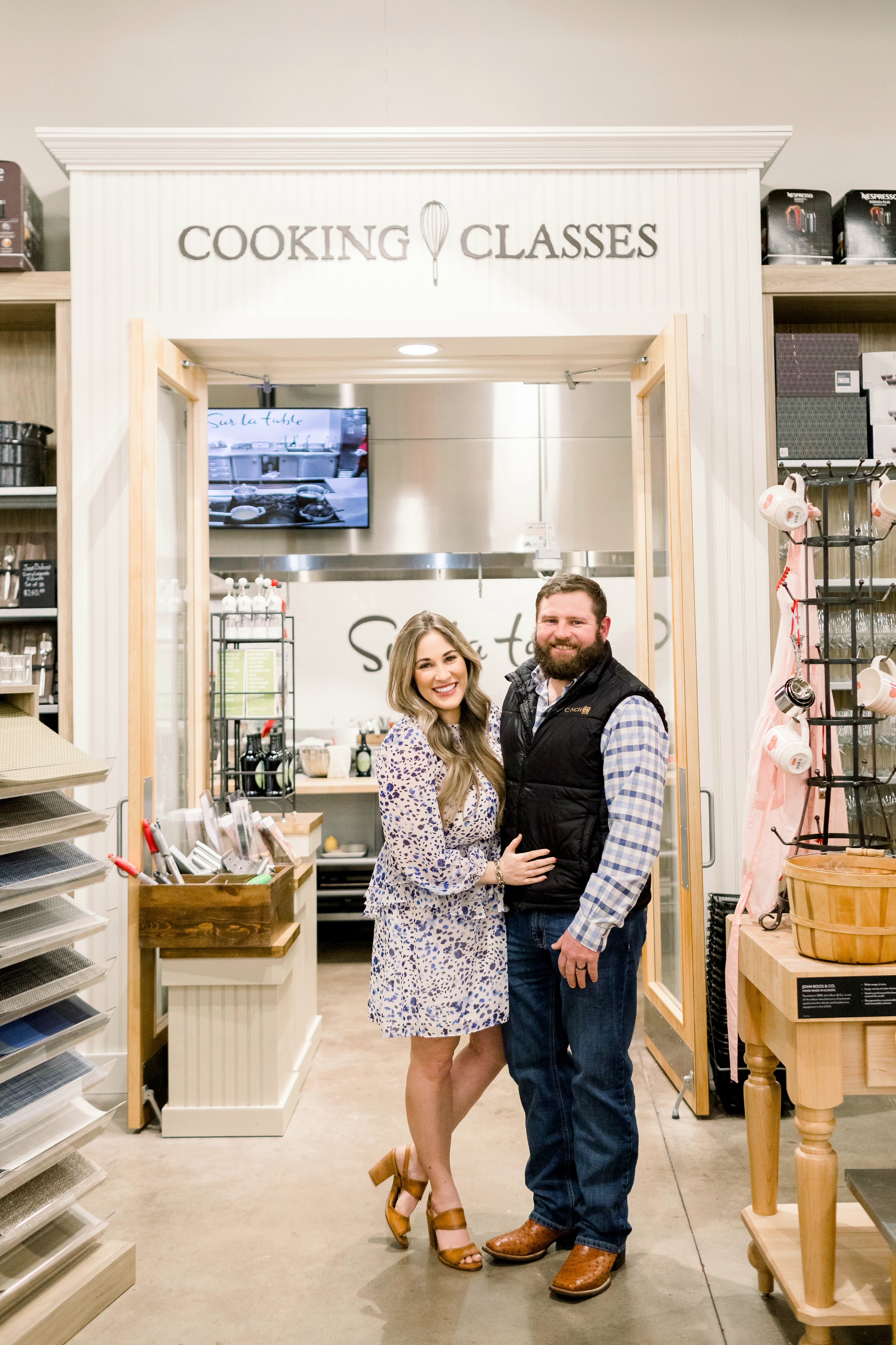 Sur la Table Cooking Class review featured by top Memphis lifestyle blog, Walking in Memphis in High Heels.