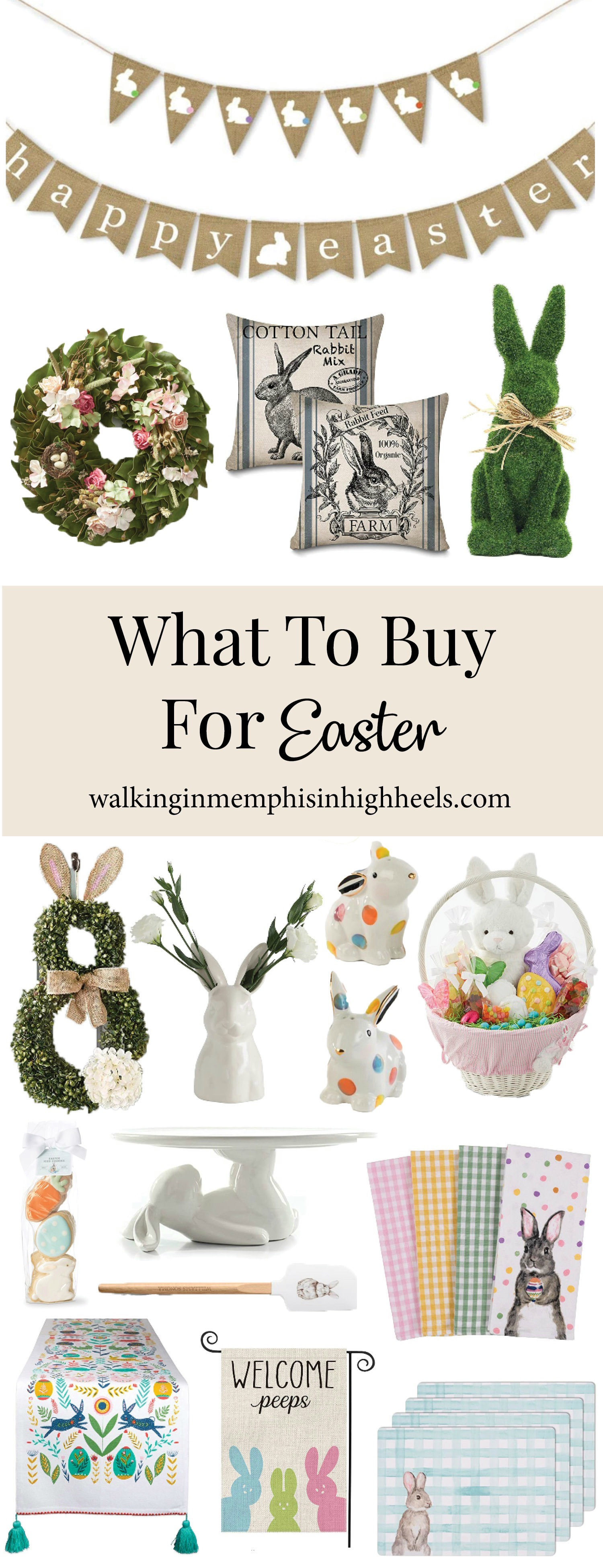Easter Home Decor: How to Decorate Your Home for Easter, favorites featured by top Memphis lifestyle blog, Walking in Memphis in High Heels.