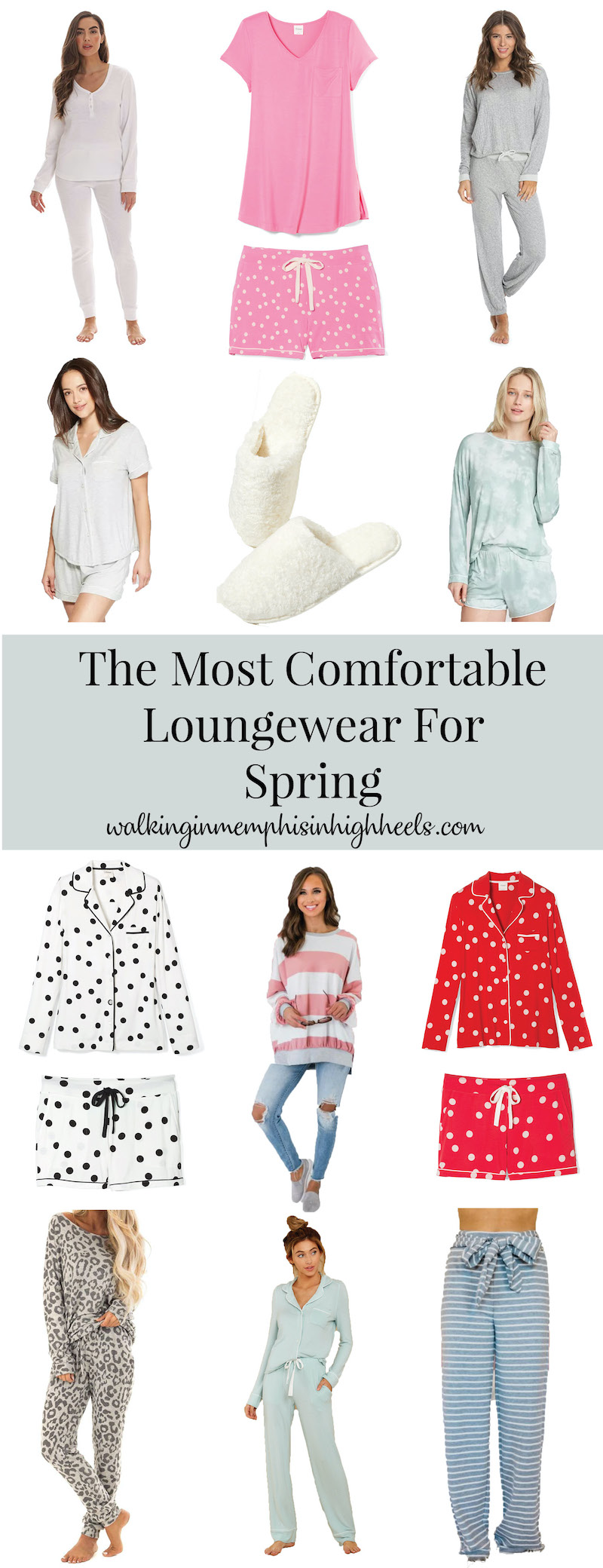 The Most Comfortable Loungewear for Spring