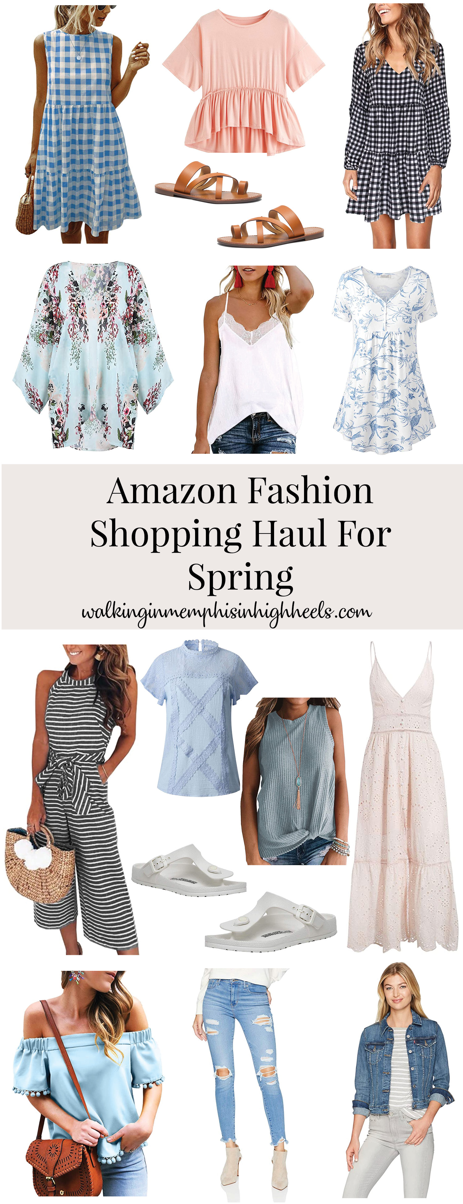 Amazon Fashion Spring Essentials featured by top Collierville fashion blog, Walking in Memphis in High Heels.