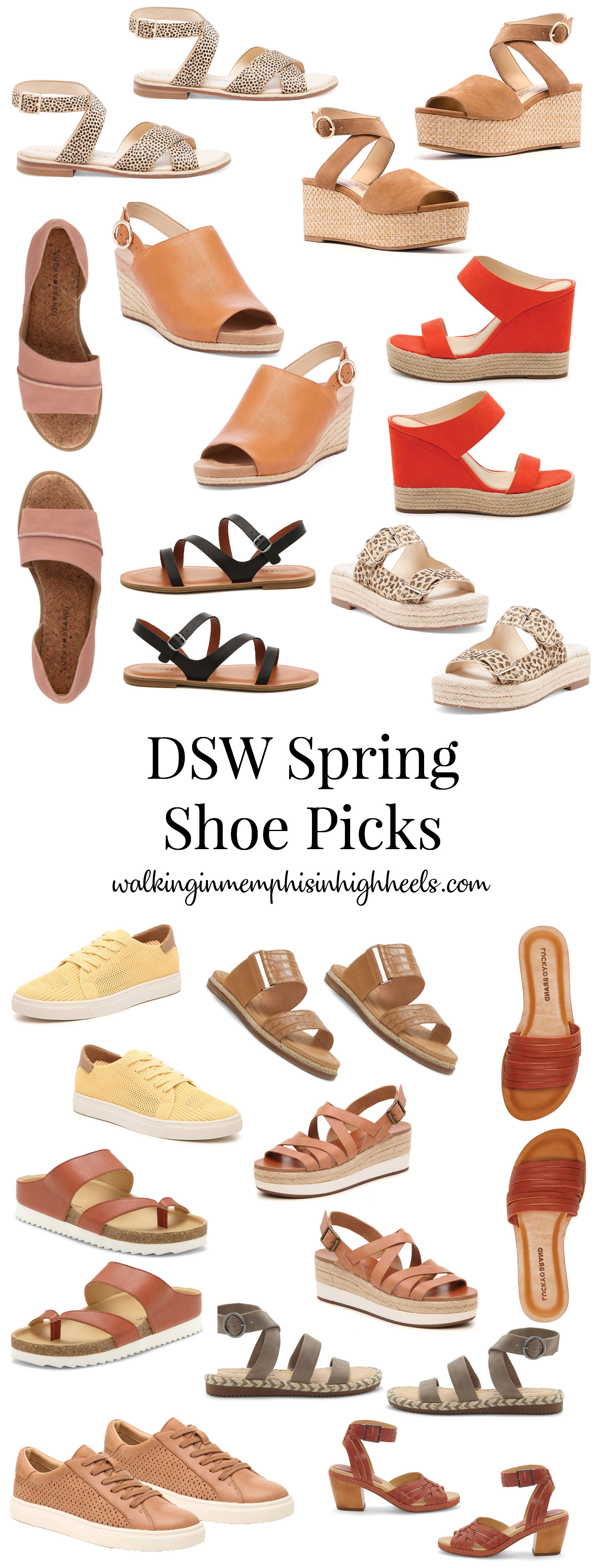 DSW Spring Shoes Top Picks featured by top Memphis fashion blog, Walking in Memphis in High Heels.