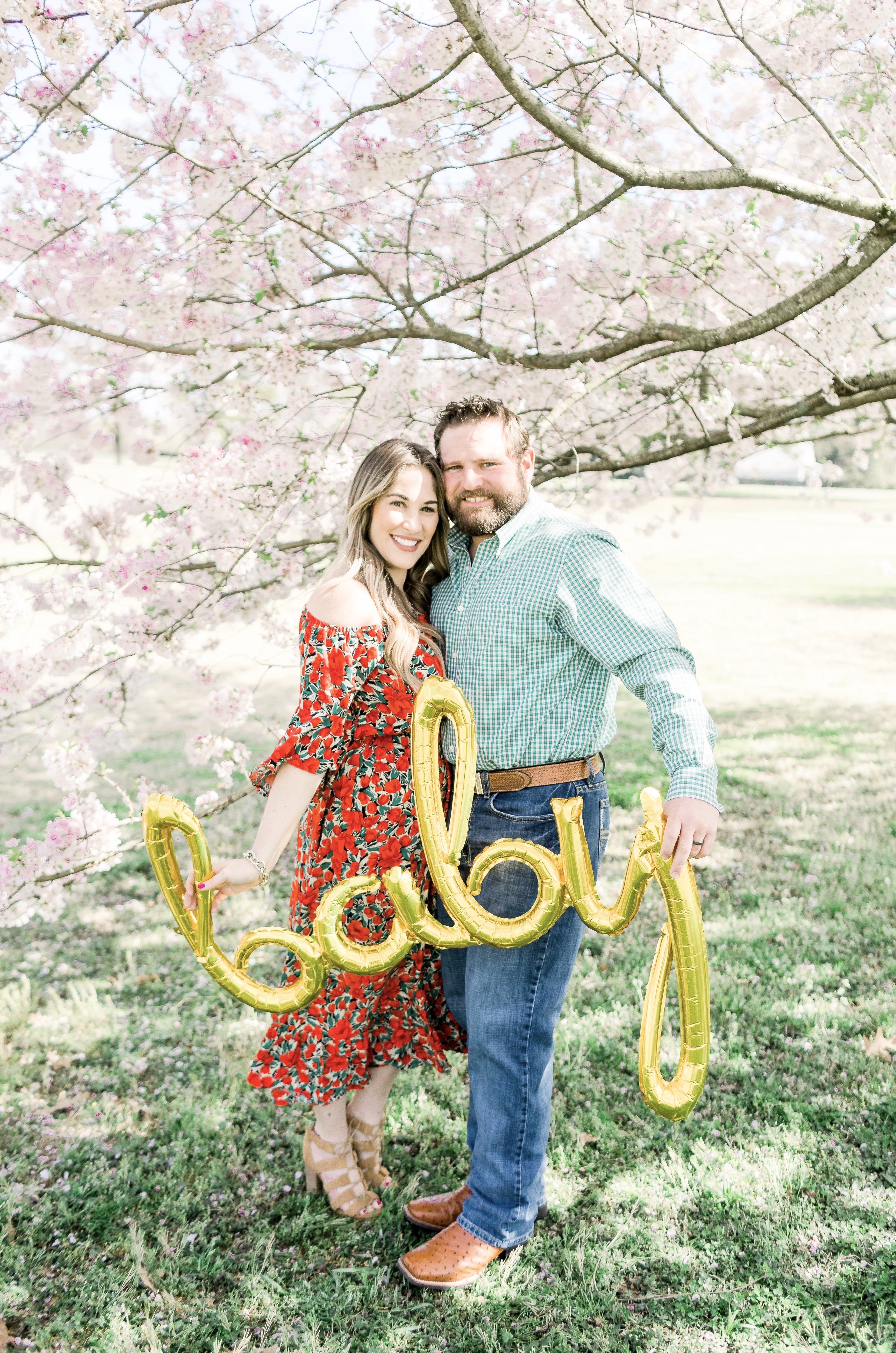 Trend Spin Linkup – Florals + We're Having a Baby!