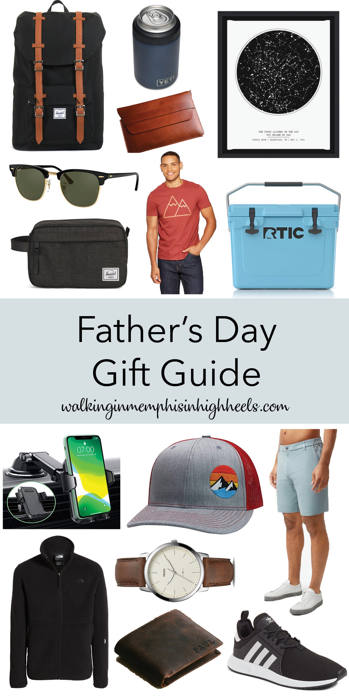 The Ultimate Fathers Day Gift Guide with a Gift Ideas for Every Dad featured by top Memphis life and style blogger, Walking in Memphis in High Heels.