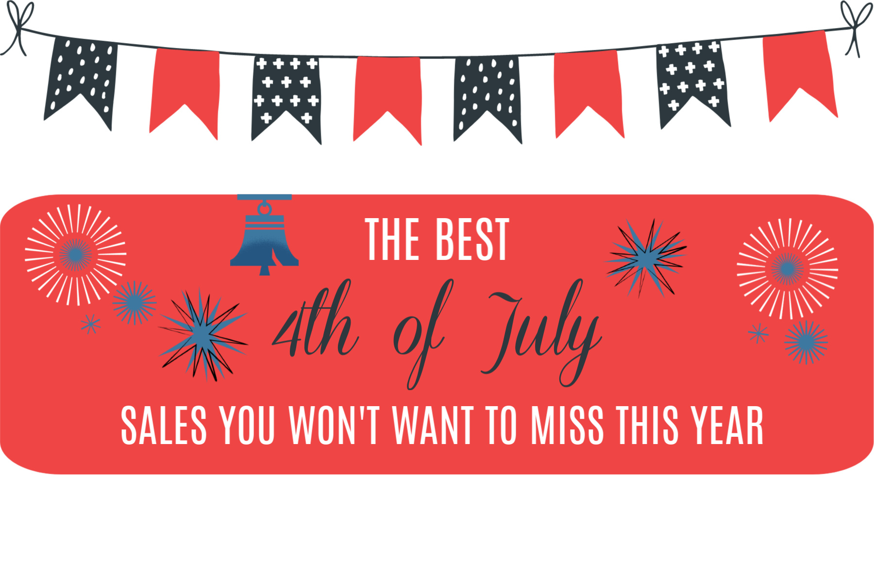 Shopping Guide: Best 4th of July Sales You Don't Want to Miss! featured by top Memphis lifestyle blogger, Walking in Memphis in High Heels.
