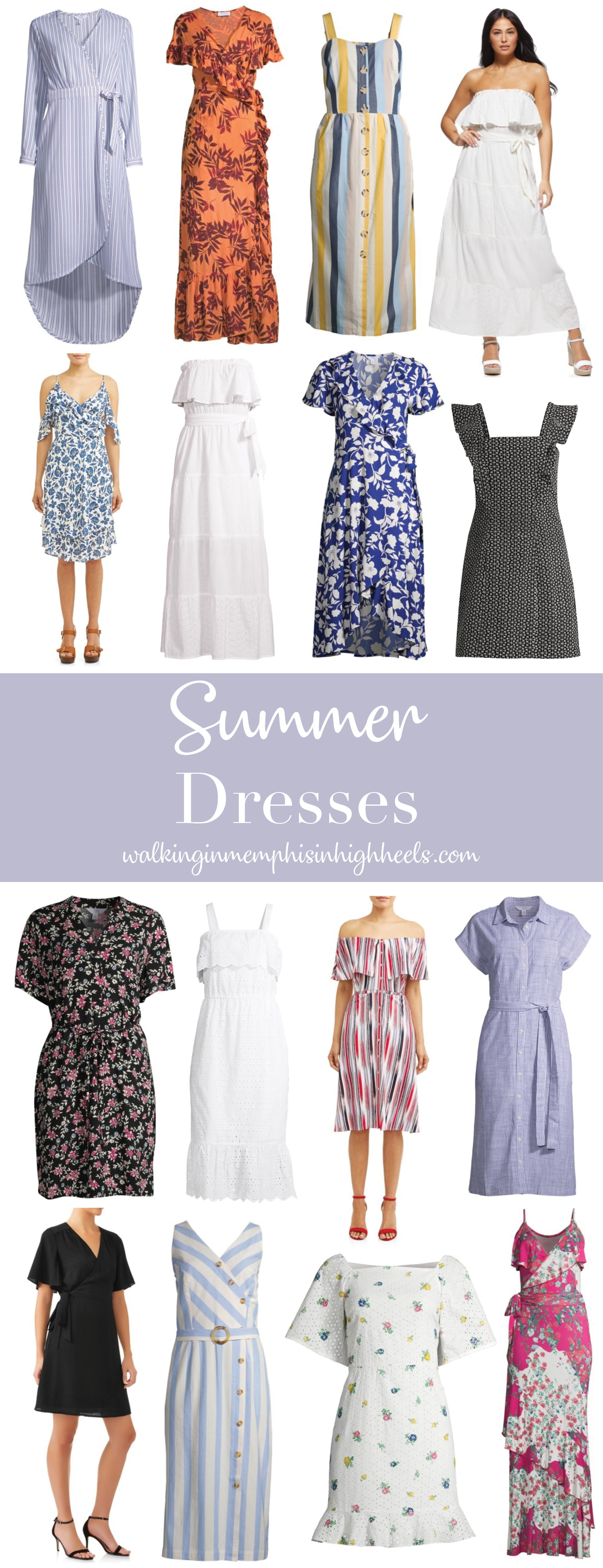 Top 15 Cute Summer Dresses Under $50 featured by top Memphis fashion blogger, Walking in Memphis in High Heels.