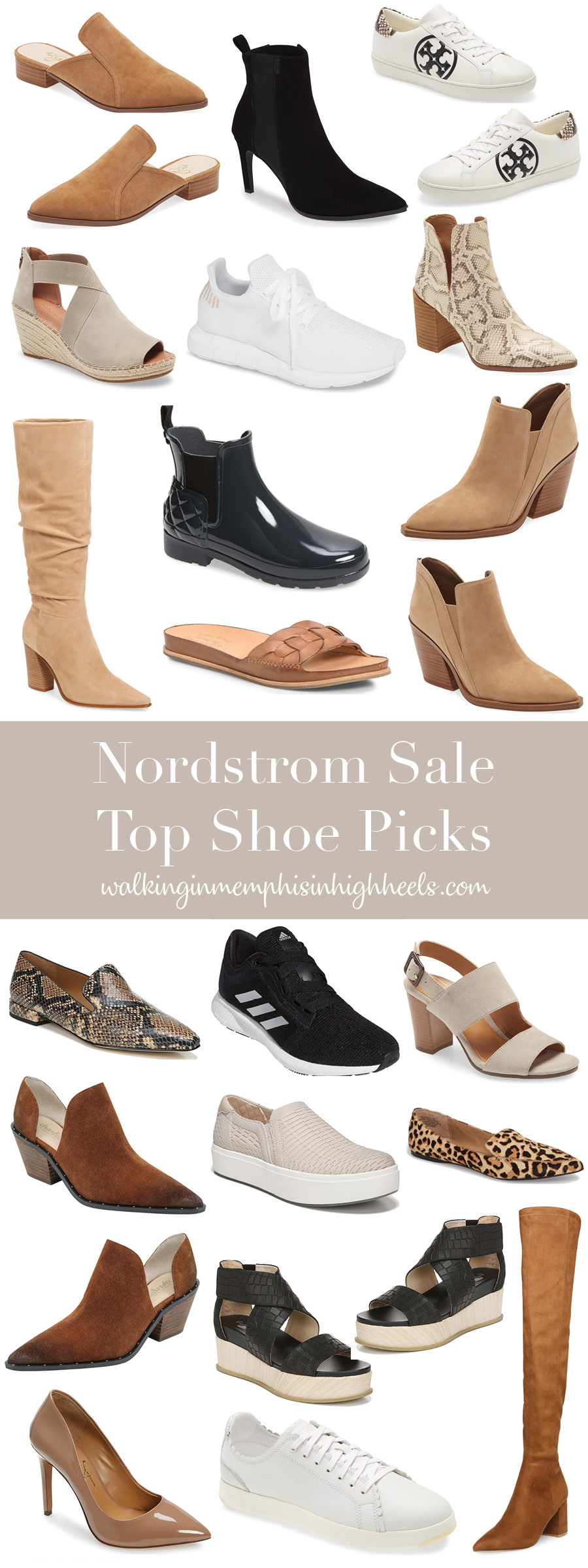 Best shoes from the Nordstrom Anniversary Sale featured by top Memphis fashion blogger, Walking in Memphis in High Heels.