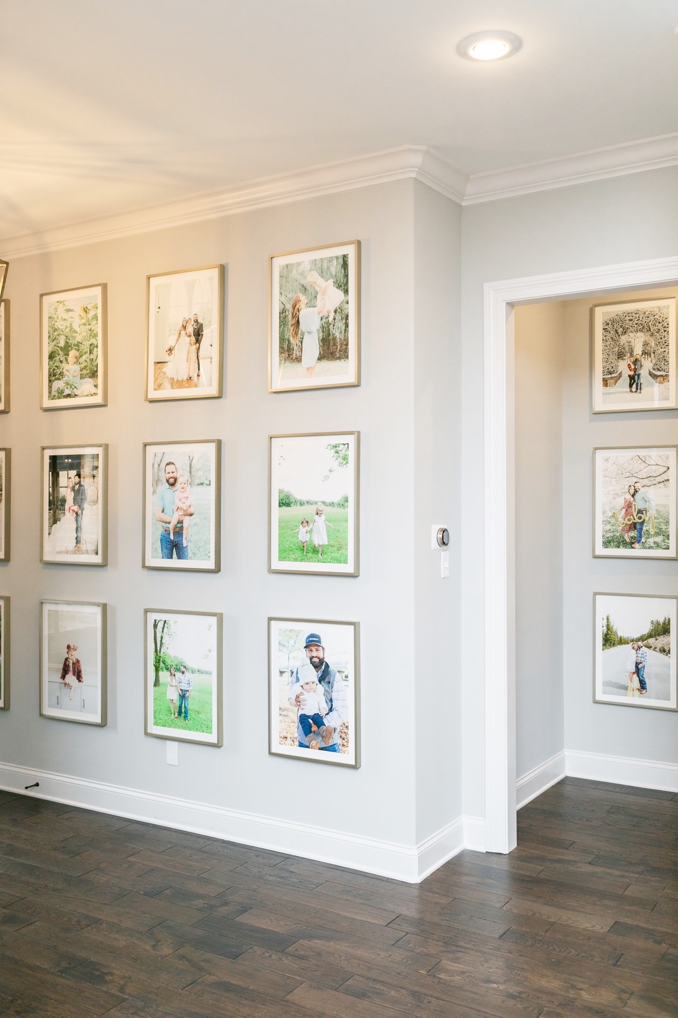 Minted Gallery Wall featured by top Memphis lifestyle blogger, Walking in Memphis in High Heels.