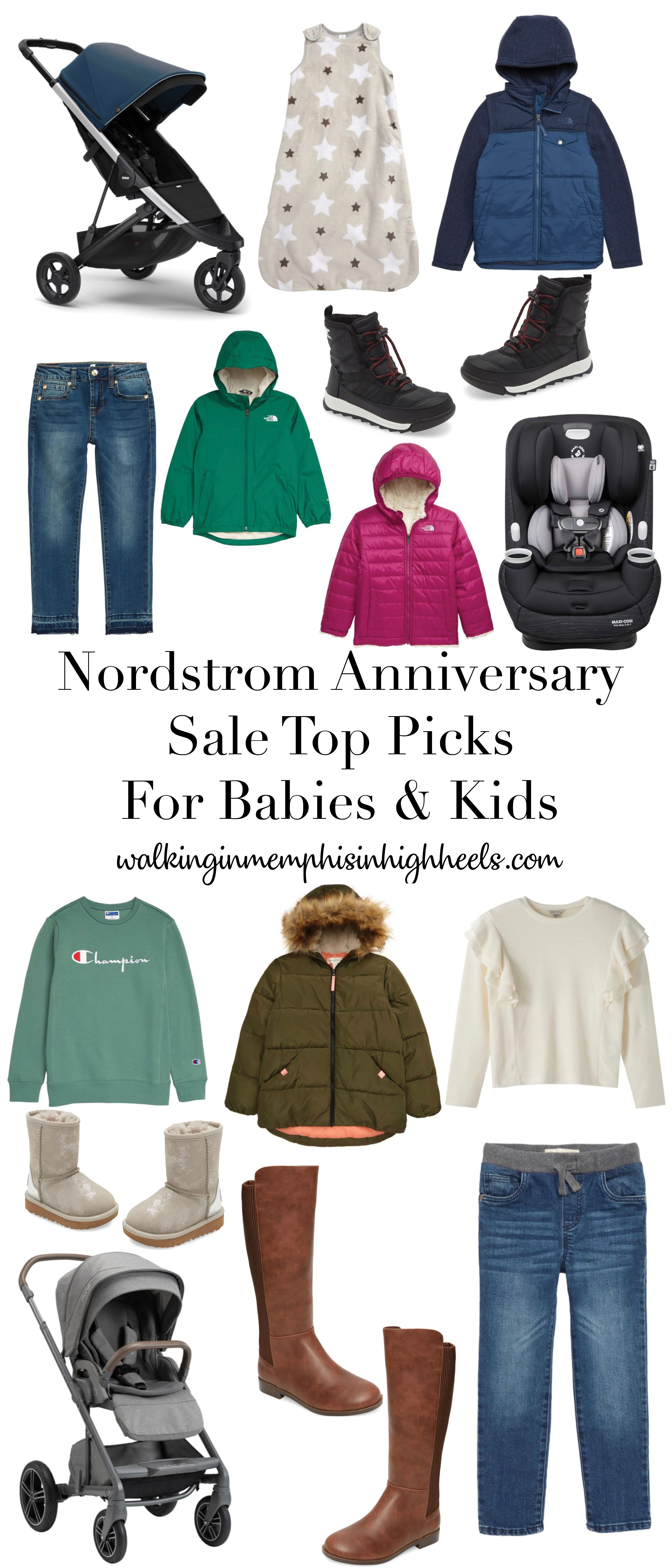 Nordstrom Anniversary Sale Top Picks for Kids + Babies featured by top Memphis mommy blog, Walking in Memphis in High Heels.