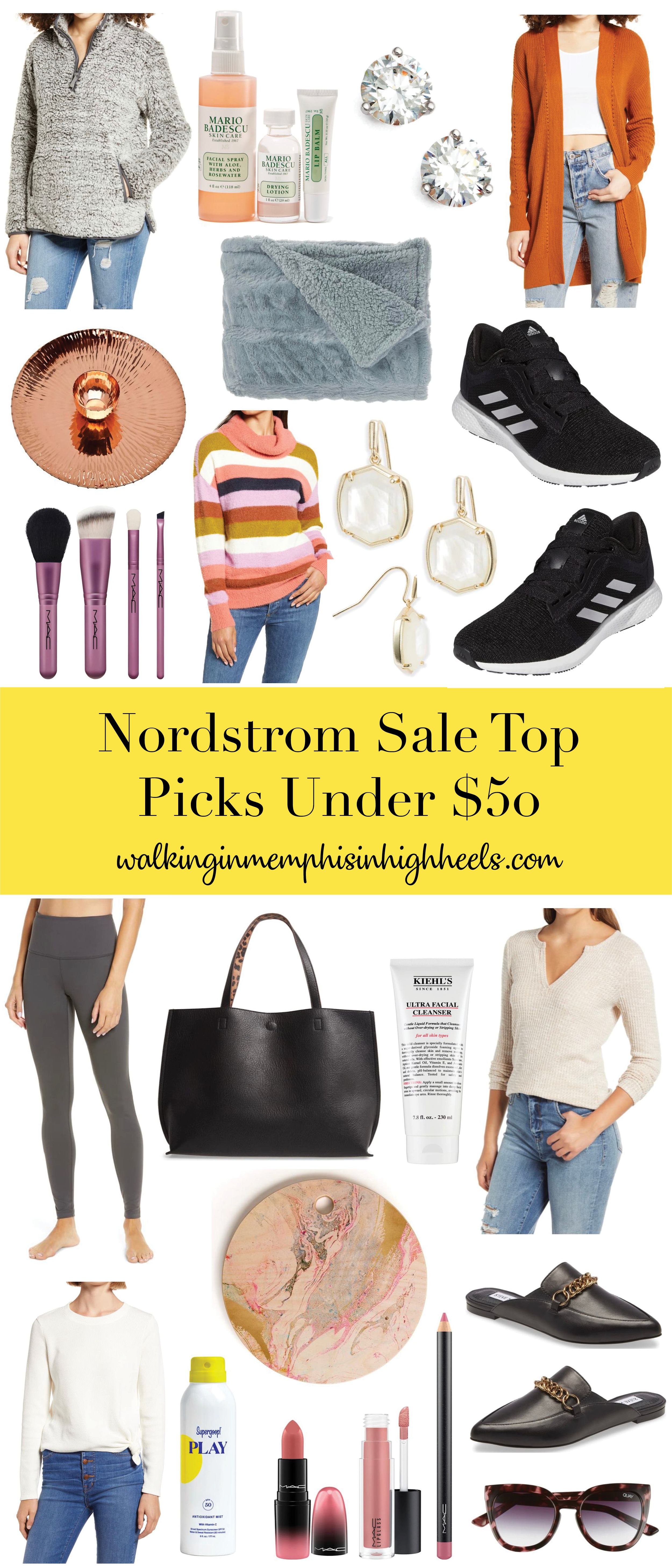 Nordstrom Anniversary Sale: Top Picks under $50 featured by top Memphis life and style blogger, Walking in Memphis in High Heels.