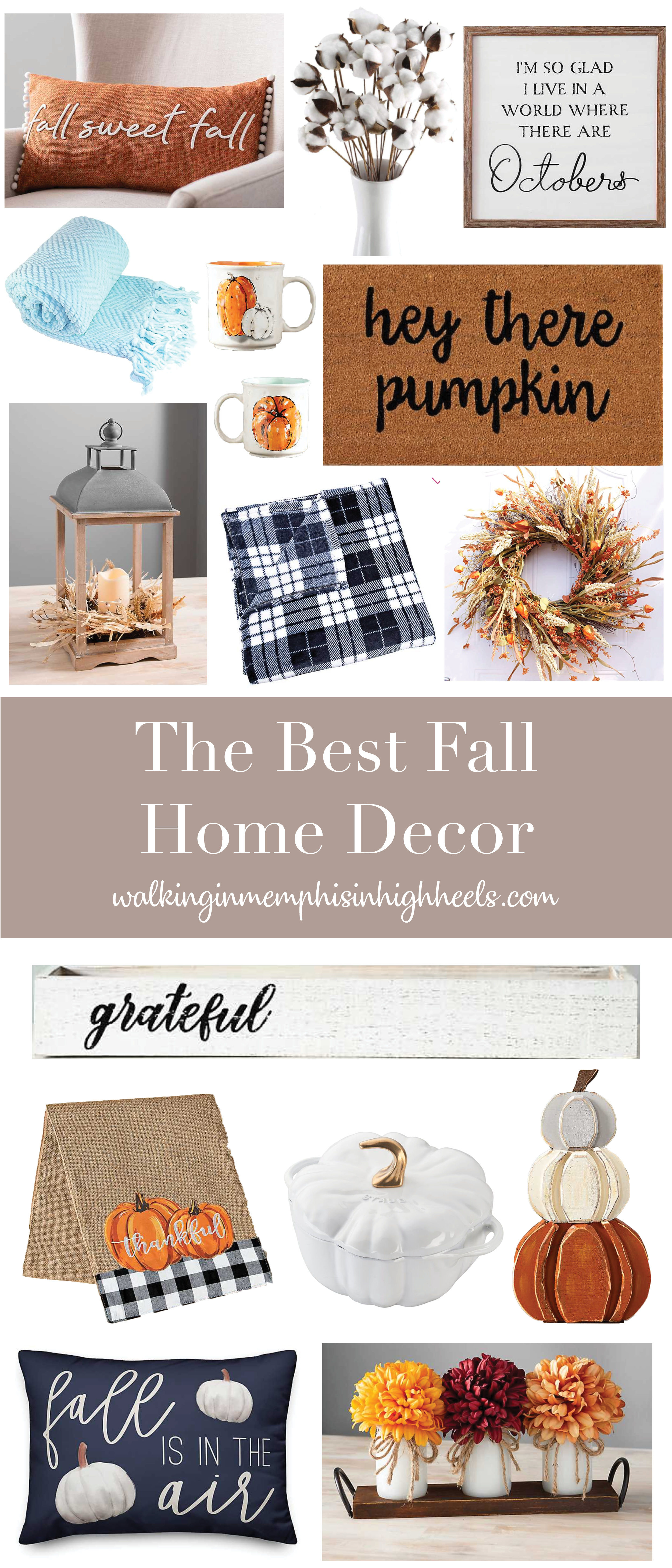 The Best Fall Home Decor