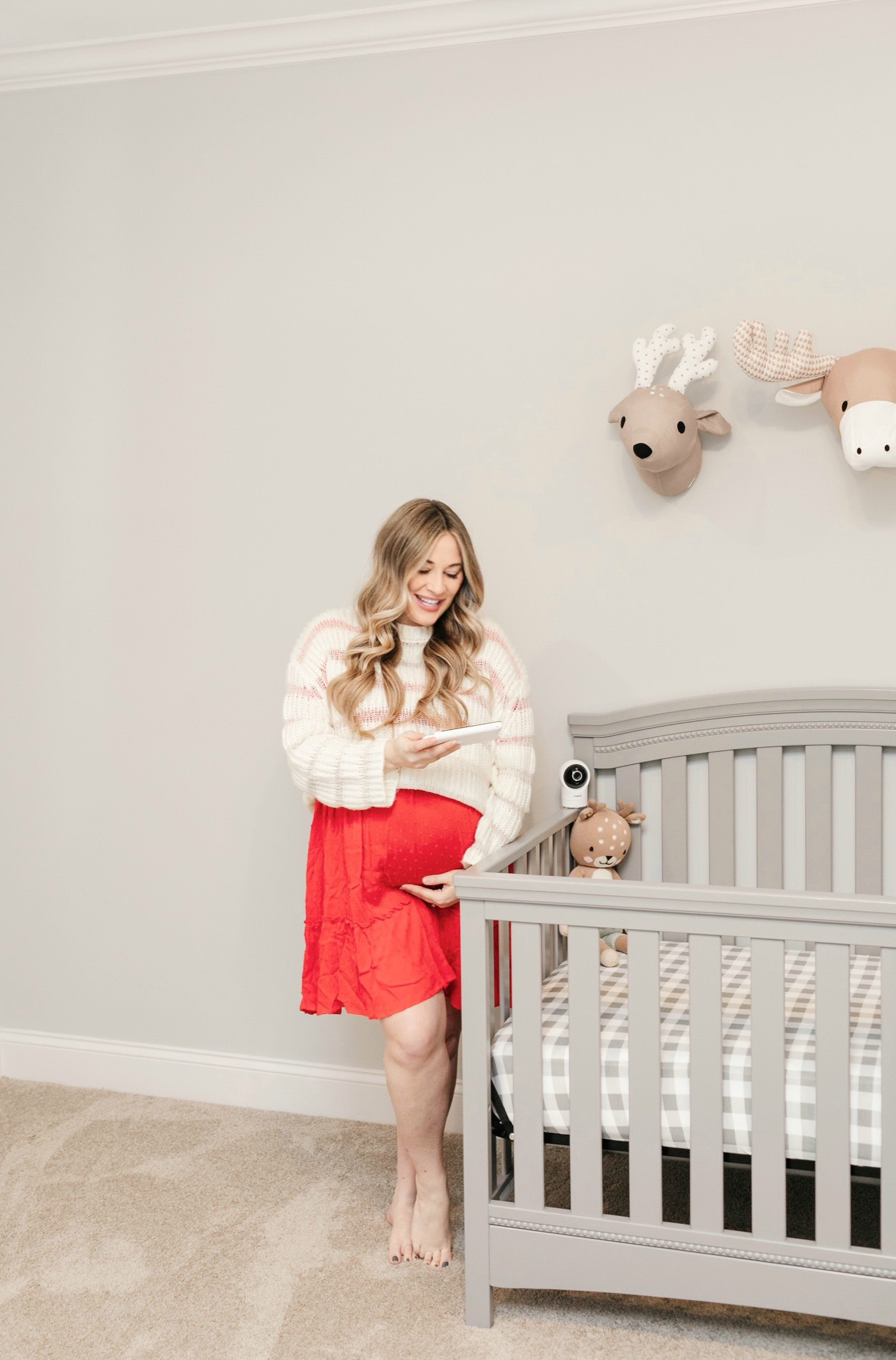 Nursery Safety Tips featured by top Memphis mommy blogger, Walking in Memphis in High Heels