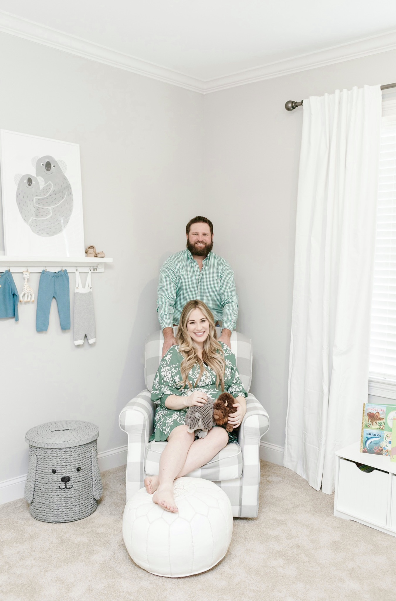 Modern Farmhouse Nursery ideas featured by top Memphis lifestyle blogger, Walking in Memphis in High Heels.