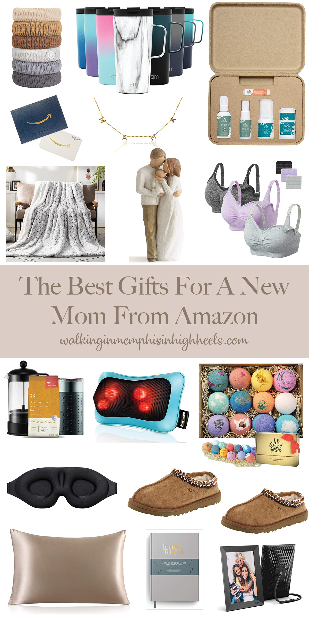 Amazon Favorites: the Best Gift Ideas for the New Mom