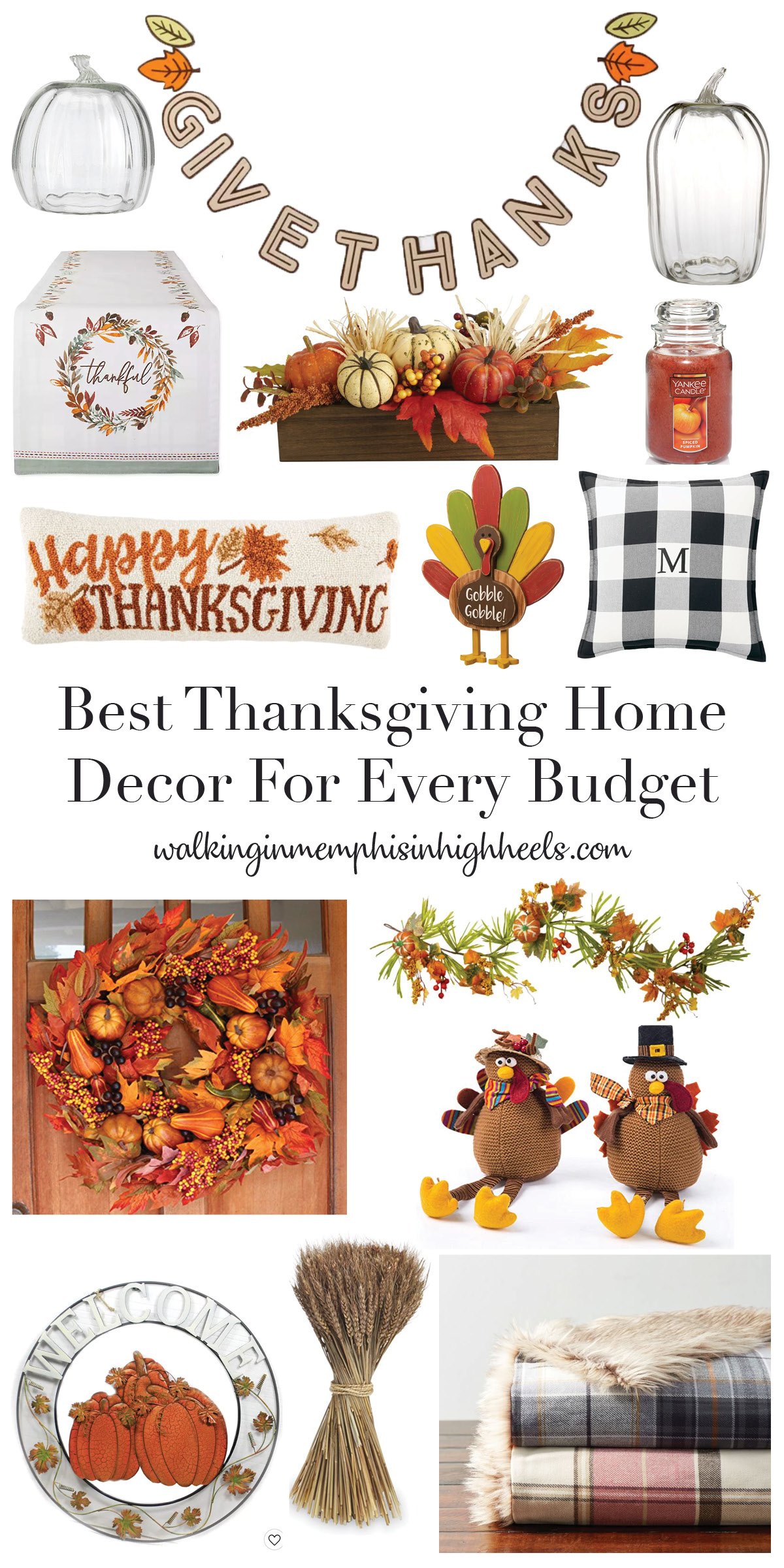 The Best Thanksgiving Home Decor for Your House