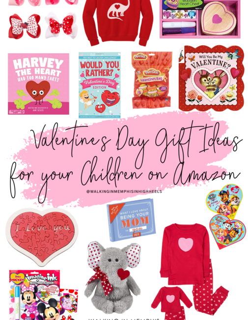 Amazon Favorites: Top 10 Valentine's Day Gifts Ideas for Children featured by top Memphis mommy blogger, Walking in Memphis in High Heels.