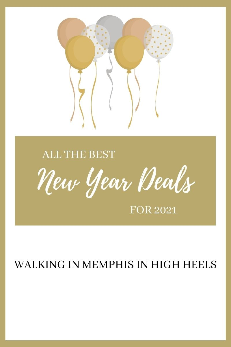 Shopping Guide: the Best New Year Sales & Deals featured by top Memphis life and style blogger, Walking in Memphis in High Heels.
