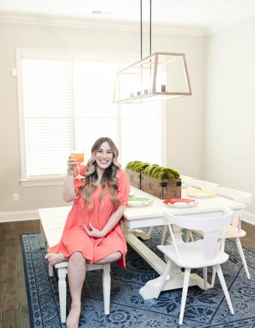 Farmhouse Dining Room featured by top Memphis lifestyle blogger, Walking in Memphis in High Heels.