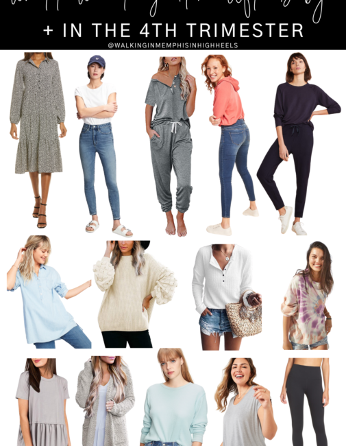 What to Wear After Giving Brith and in the 4th Trimester, postpartum fashion featured by top Memphis fashion blogger, Walking in Memphis in High Heels.