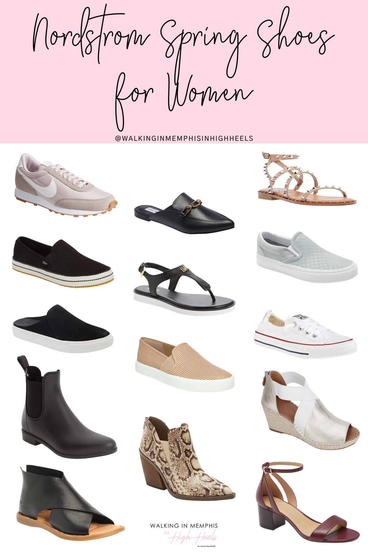 Spring Fashion: the Best Nordstrom Shoes for Women featured by top Memphis fashion blogger, Walking in Memphis in High Heels.