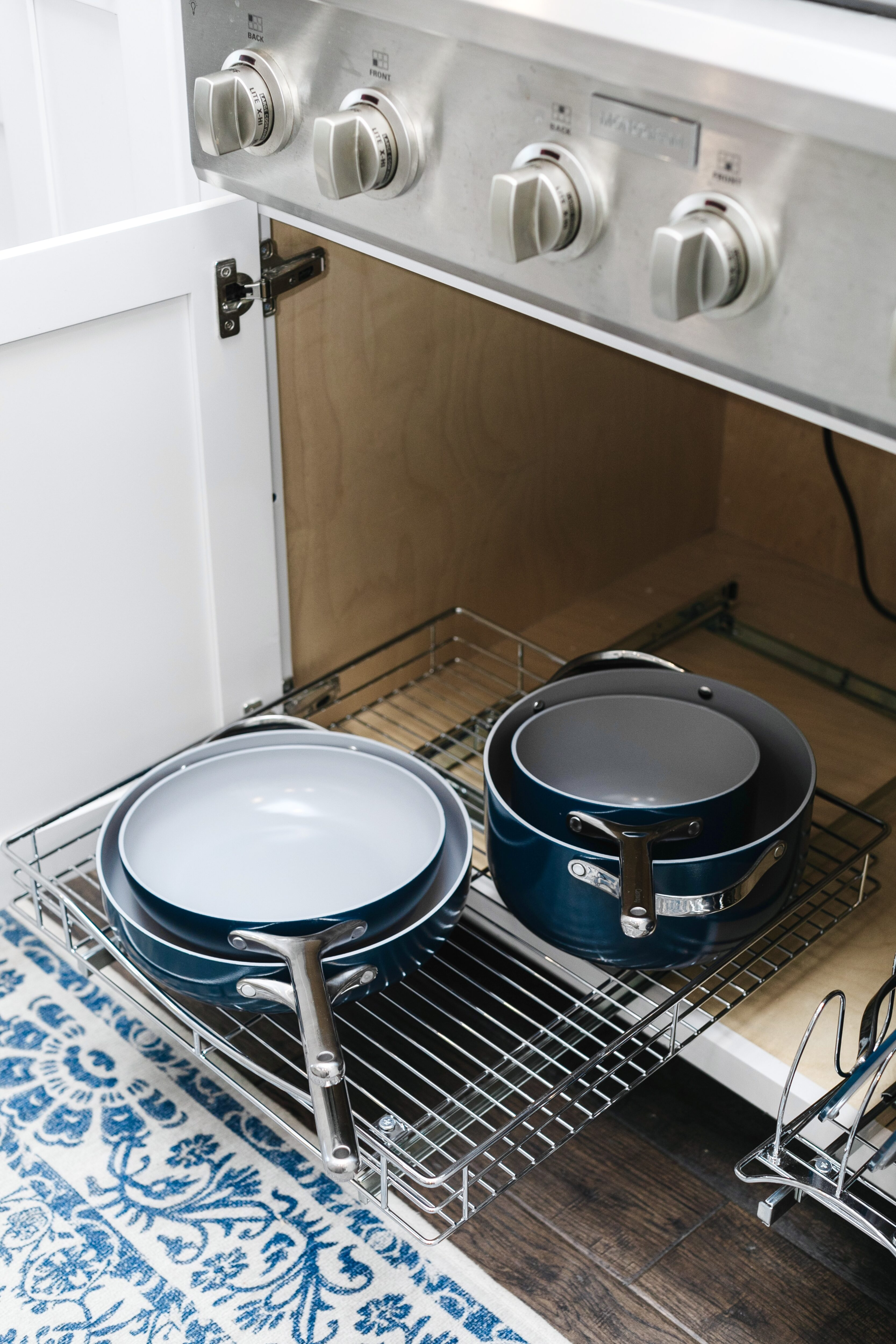 Kitchen Organization Tips Part 1: How to Organize your Pots & Pans, tips featured by top Memphis lifestyle blogger, Walking in Memphis in High Heels.