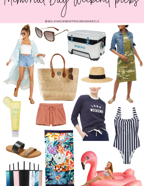Memorial Day Weekend Essentials featured by top Memphis lifestyle blogger, Walking in Memphis in High Heels.