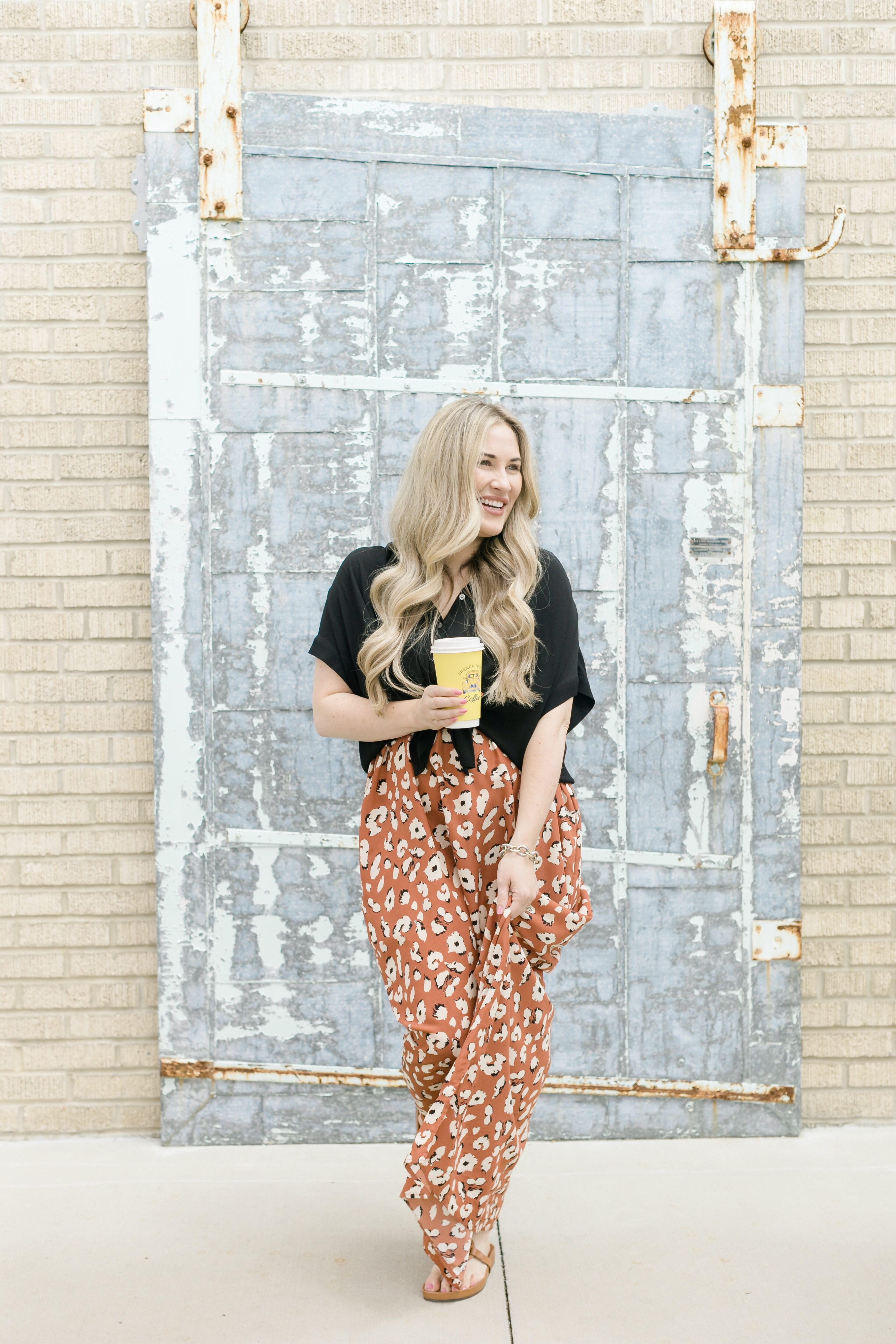 Pinkblush Animal print maxi dress styled for summer by top Memphis fashion blogger, Walking in Memphis in High Heels.