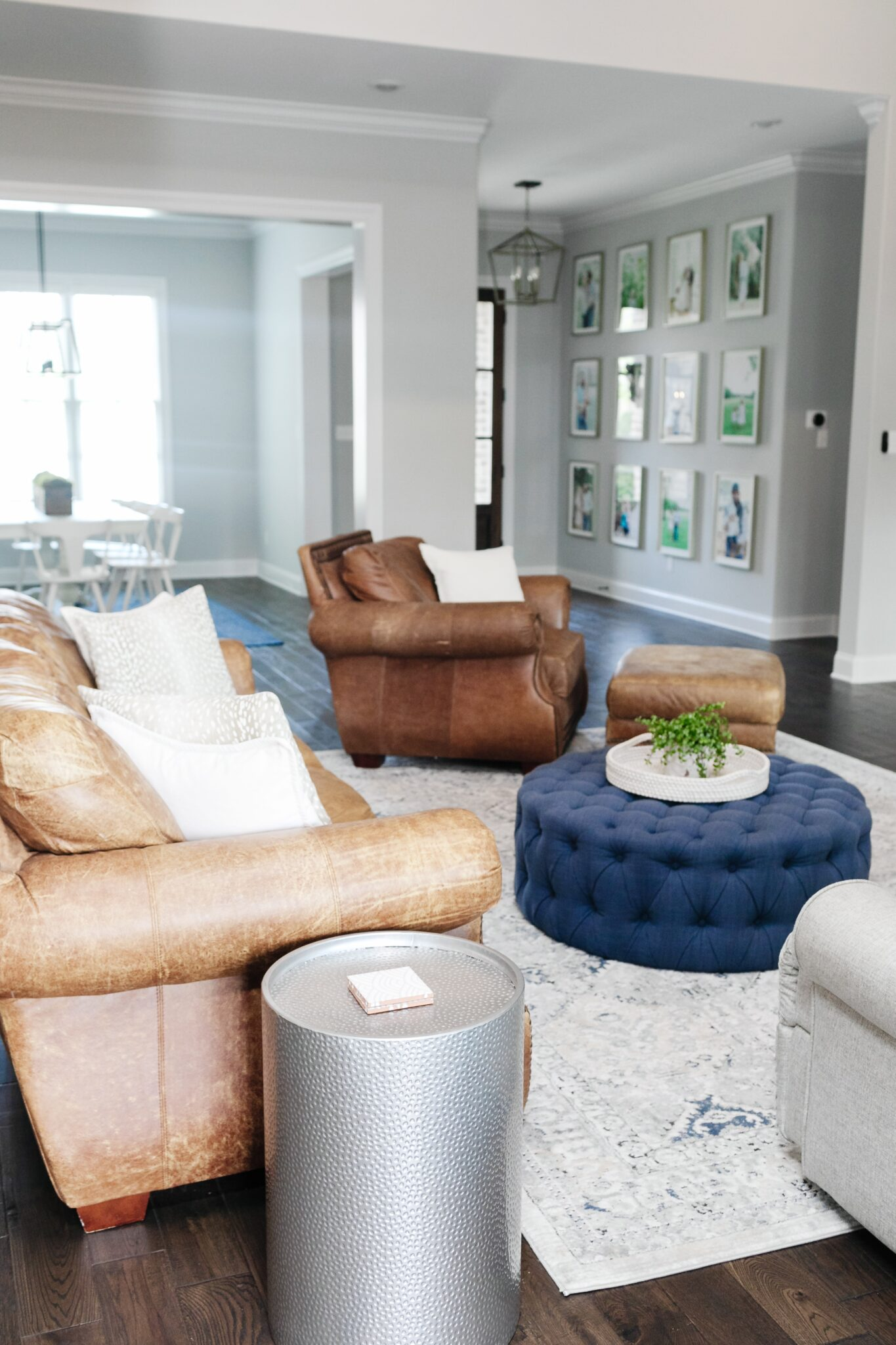 Modern Farmhouse Living Room Furniture & Decor featured by top Memphis lifestyle blogger, Walking in Memphis in High Heels.