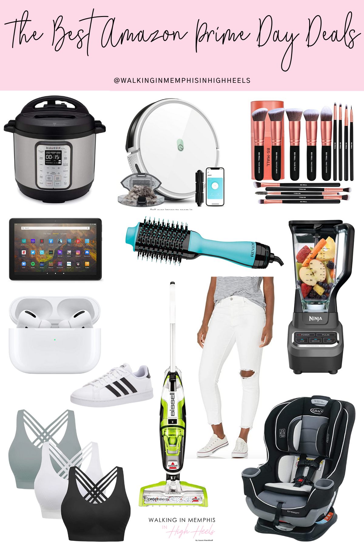 Amazon Prime Day 2021: Top 12 Best Deals featured by top Memphis lifestyle blogger, Walking in Memphis in High Heels.