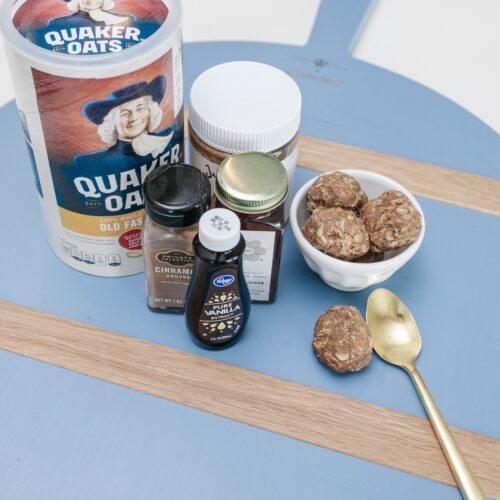 Almond butter protein balls recipe