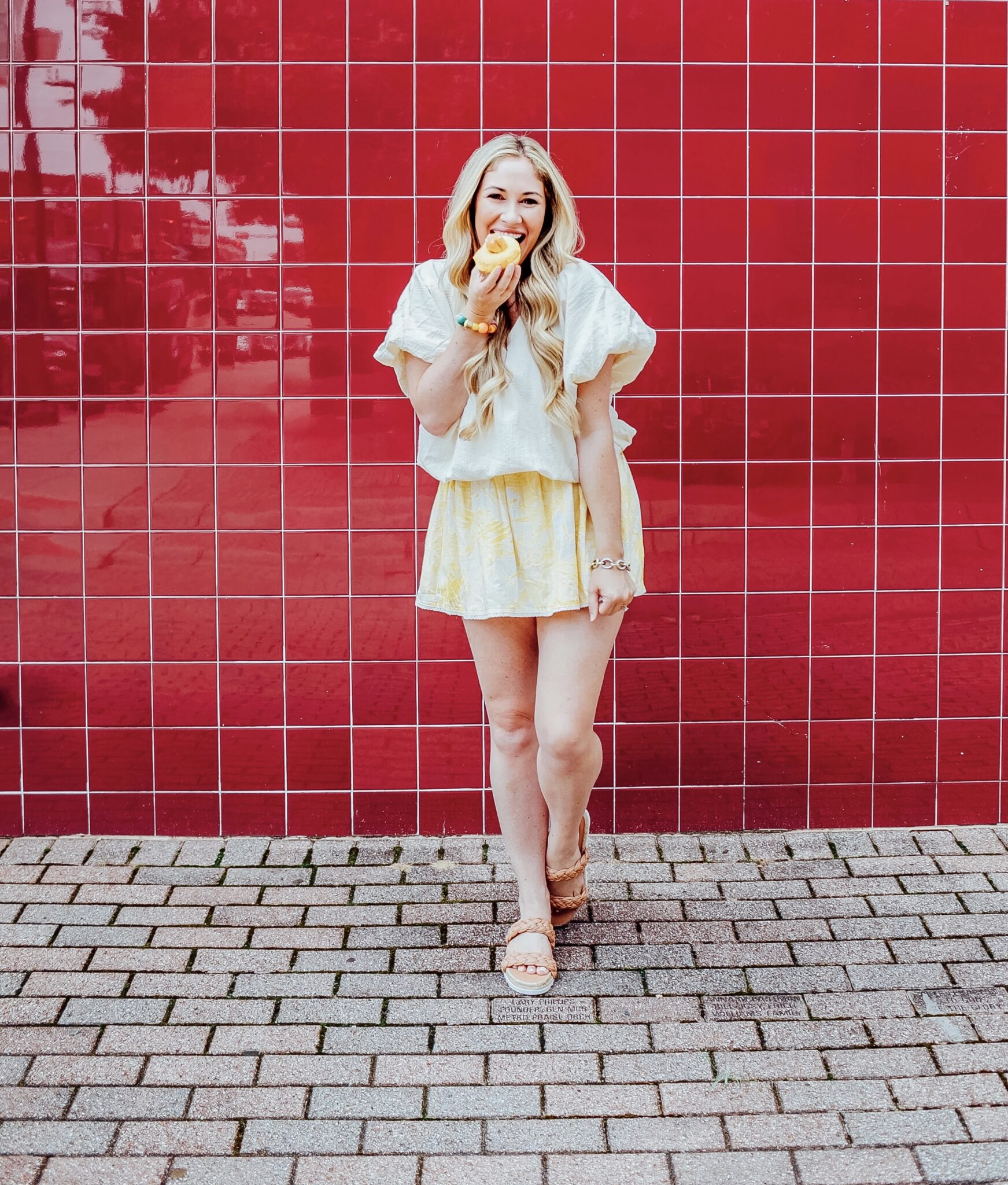 Picnic style featured by top US fashion blogger, Walking in Memphis in High Heels.