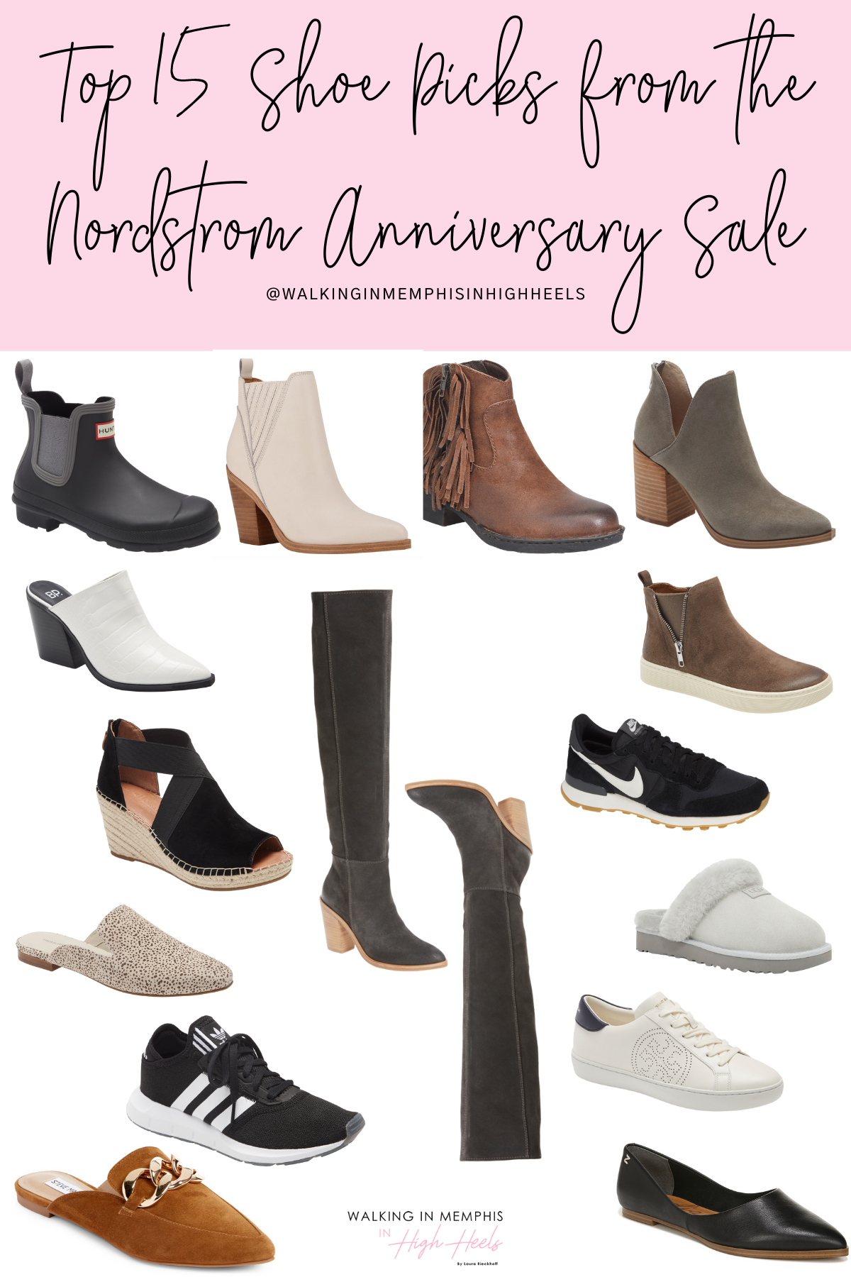 Nordstrom Anniversary Sale 2021: Top 15 Shoe Picks for Women featured by top Memphis fashion blogger, Walking in Memphis in High Heels.